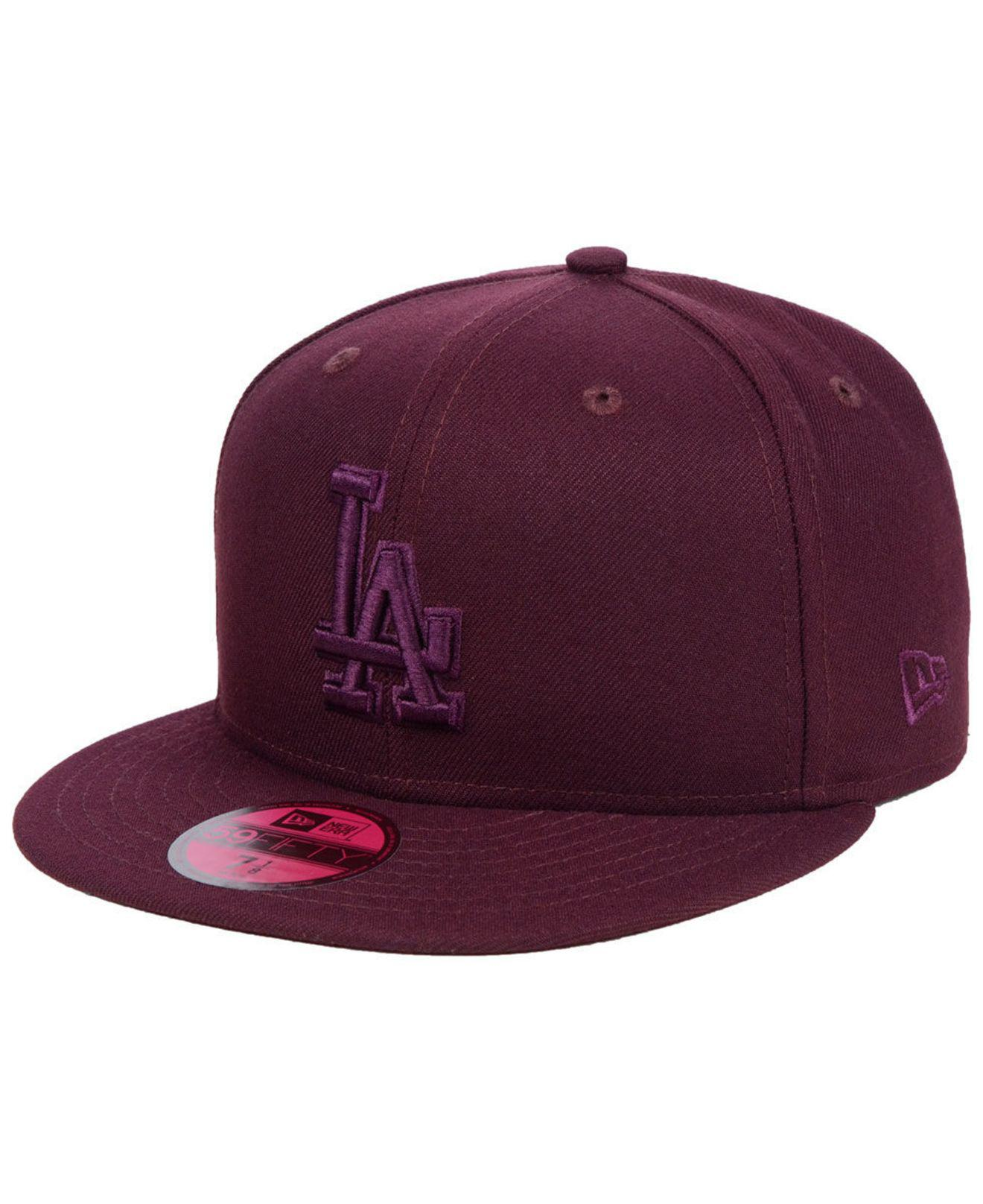 online retailer bc141 b5abb ... new era mlb color prism pack 59fifty cap fa0cb d4c99  best ktz. mens  purple los angeles dodgers fall prism pack 59fifty fitted cap d1b94 66aad
