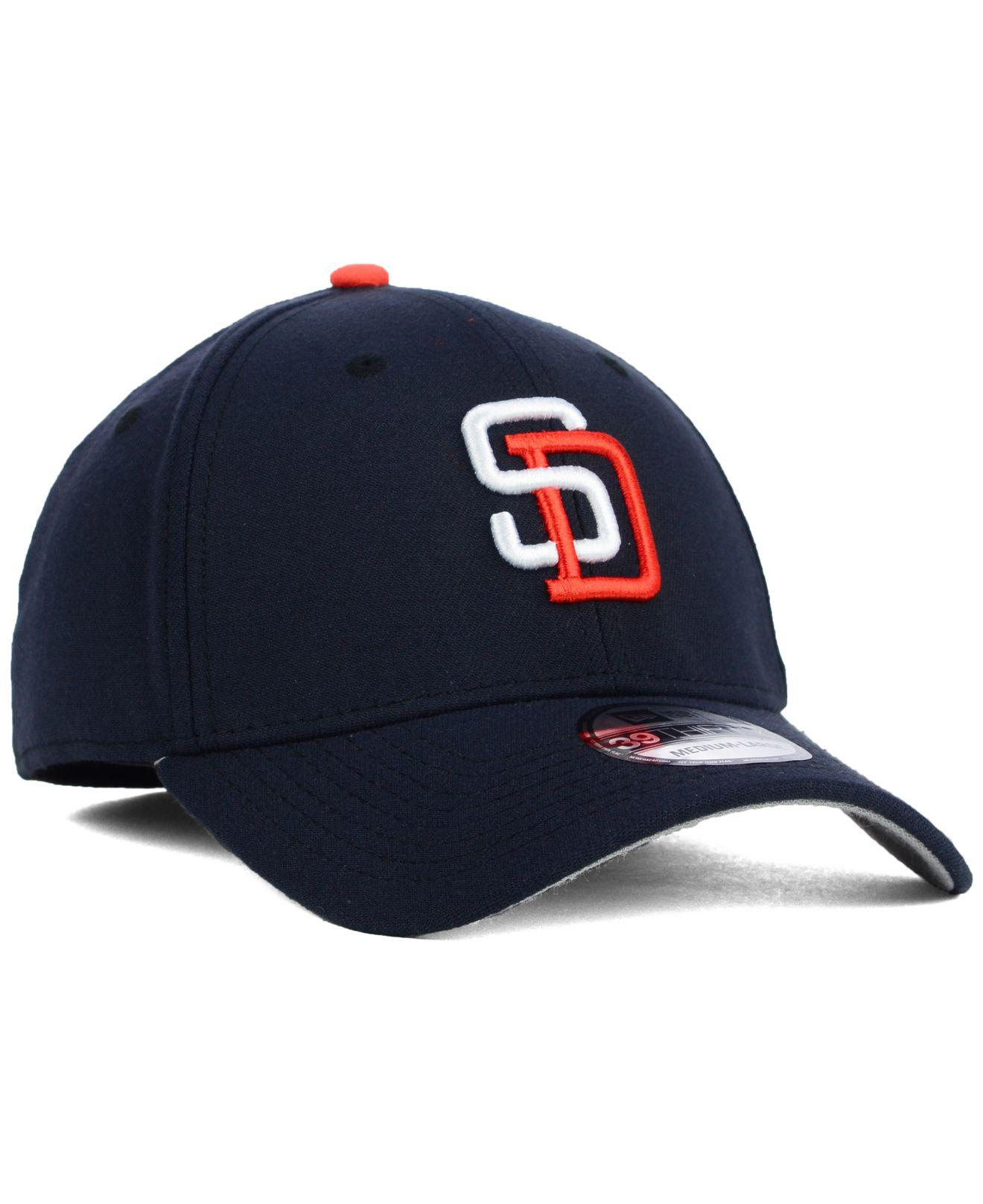 new arrival 8c84f d2eb4 ... San Diego Padres Core Classic 39thirty Cap for Men - Lyst. View  fullscreen