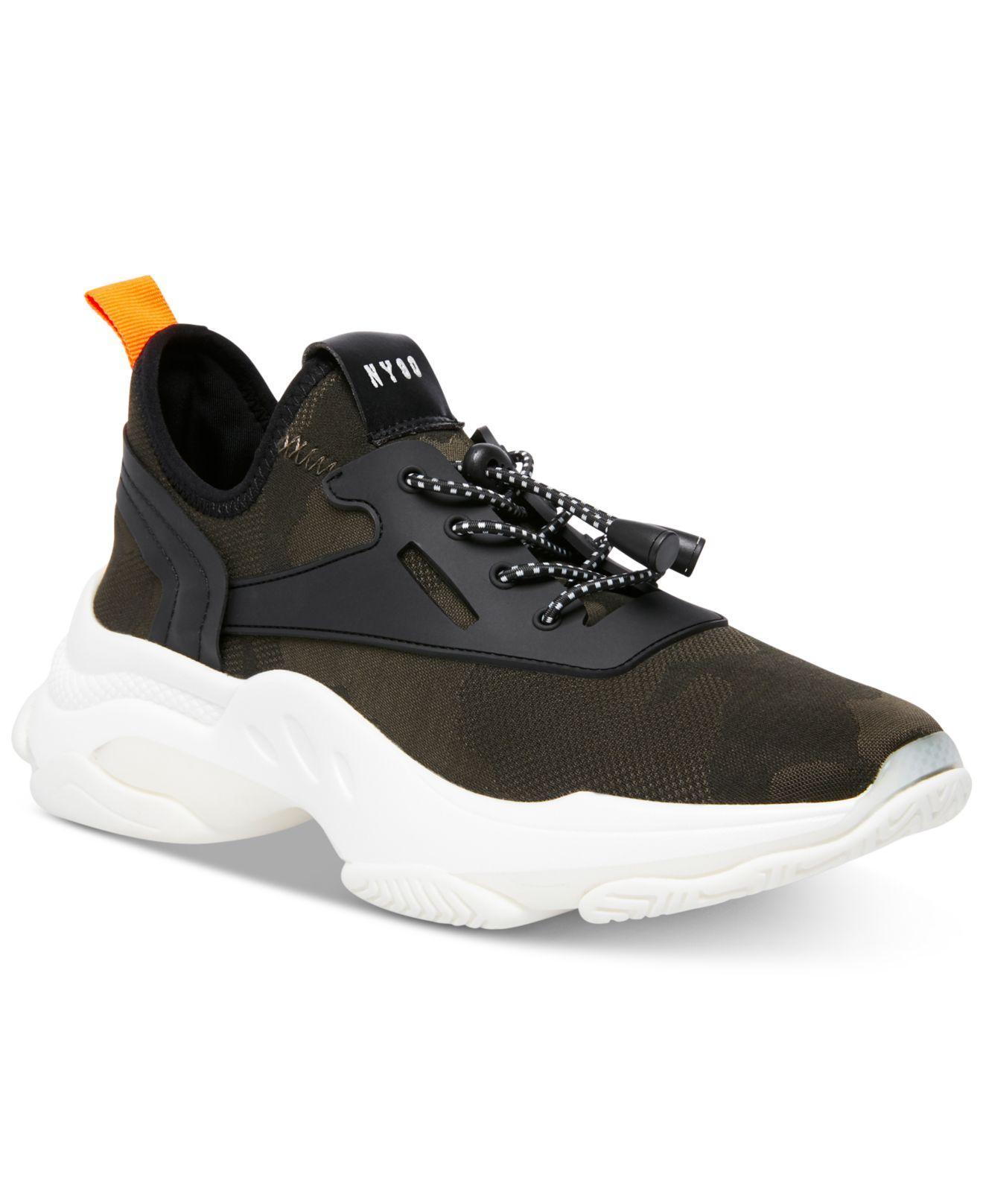 5ceacd63cbb Lyst - Steve Madden Myles Knit Chunky Sneakers