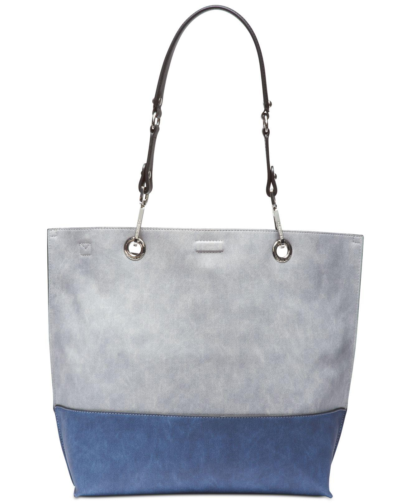 3be19be37 Calvin Klein Sonoma Reversible Novelty Tote in Blue - Save 50% - Lyst