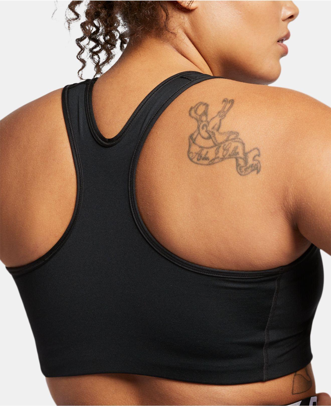 a578bcdf1fa3e Lyst - Nike Plus Size Dri-fit Medium-support Sports Bra in Black
