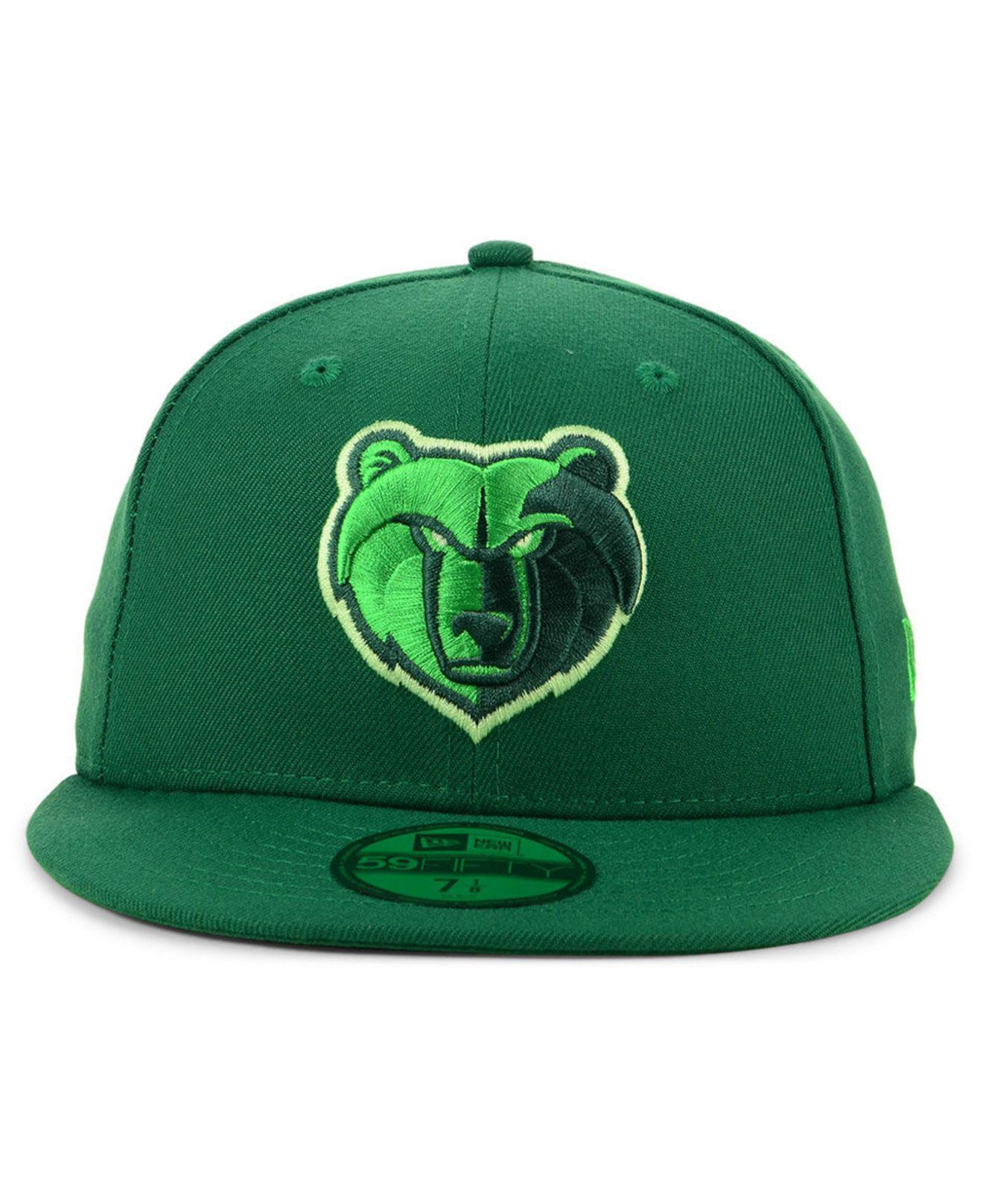 the best attitude 7ba8c a375e ... uk lyst ktz memphis grizzlies color prism pack 59fifty fitted cap in  green for men 5a2b3