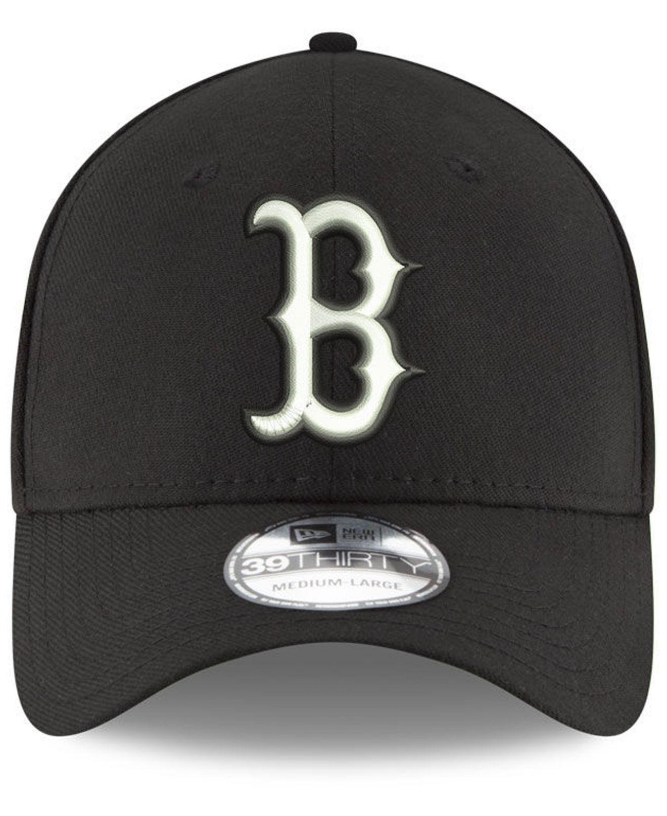 Lyst - Ktz Boston Red Sox Dub Classic 39thirty Cap in Black for Men 856743771a9e