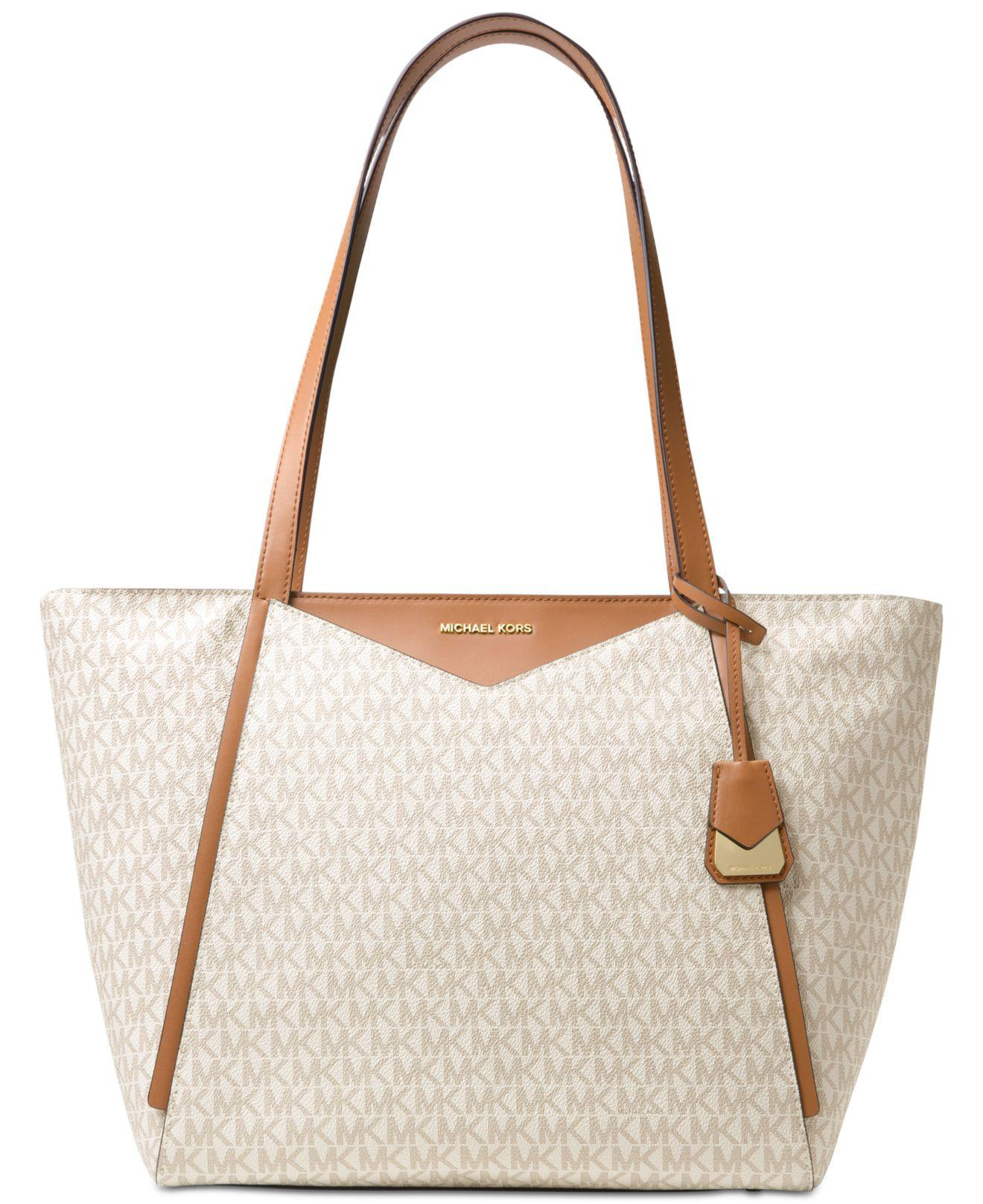 48c2bb7199e Michael Kors - Multicolor Whitney Large Logo Tote - Lyst. View fullscreen