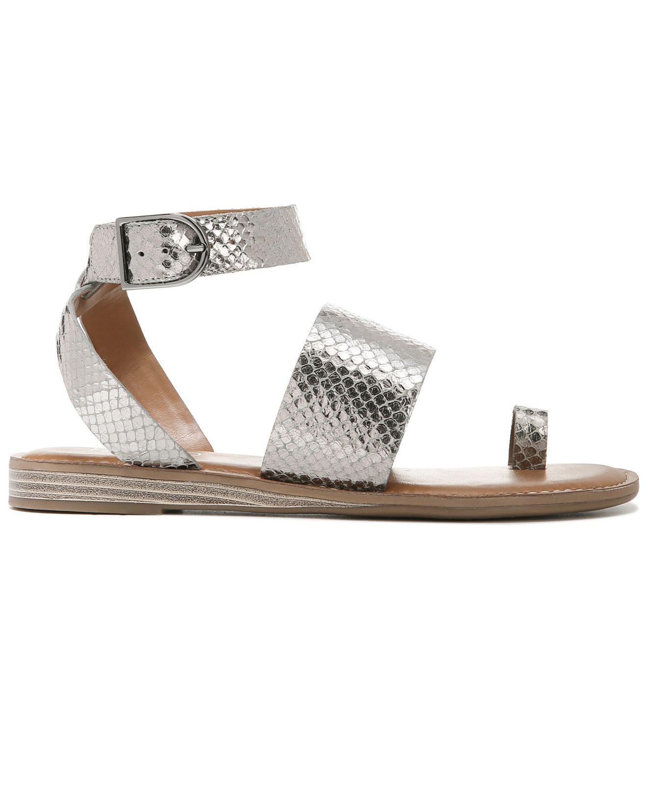 97d921cde843 Lyst - Franco Sarto Gracious Flat Sandals - Save 1%
