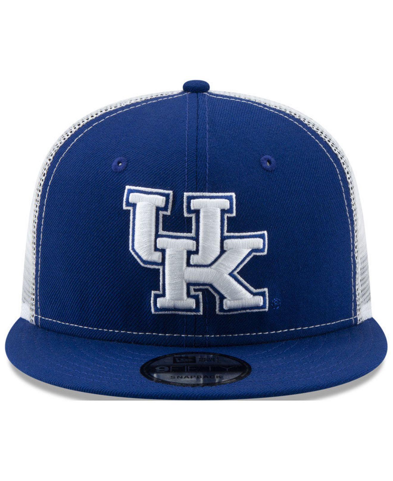 online store 7758a 15df6 Lyst - KTZ Kentucky Wildcats Tc Meshback Snapback Cap in Blue for Men