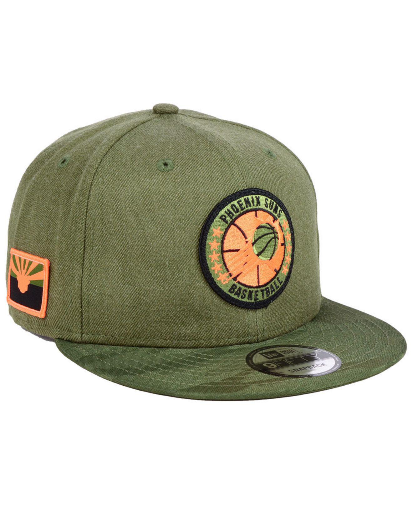 competitive price 2afa5 cf9aa KTZ - Green Phoenix Suns Tip Off 9fifty Snapback Cap for Men - Lyst. View  fullscreen