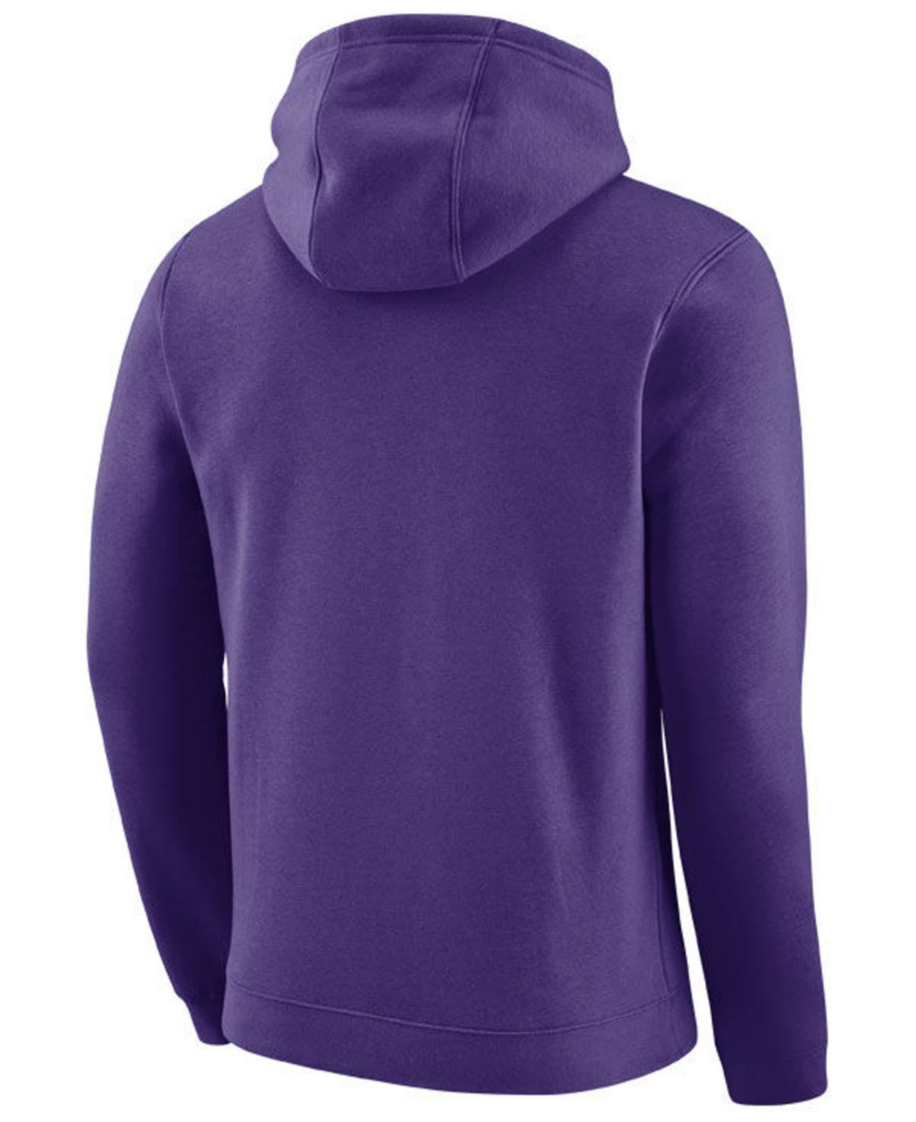 ae04a69a6665 Lyst - Nike Phoenix Suns City Club Fleece Hoodie in Purple for Men