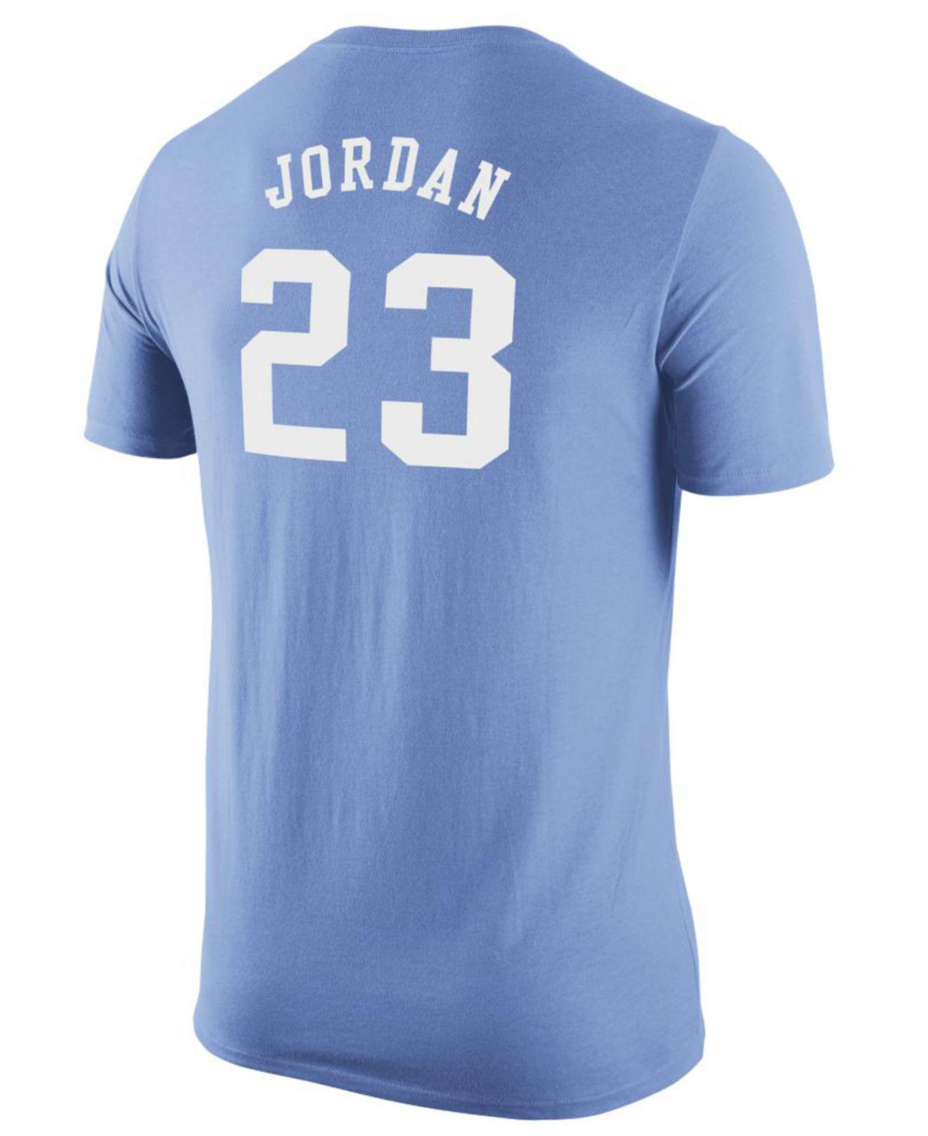 12670573329a Nike. Blue Men s Michael Jordan North Carolina Tar Heels Future Star  Replica T-shirt