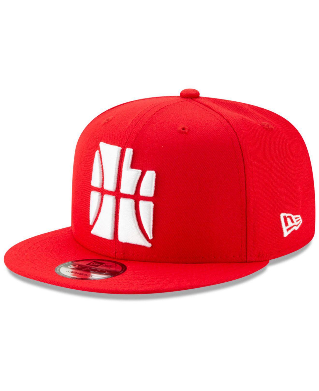 the best attitude 8e320 7033c KTZ Utah Jazz City Series 2.0 9fifty Snapback Cap in Red for Men - Lyst