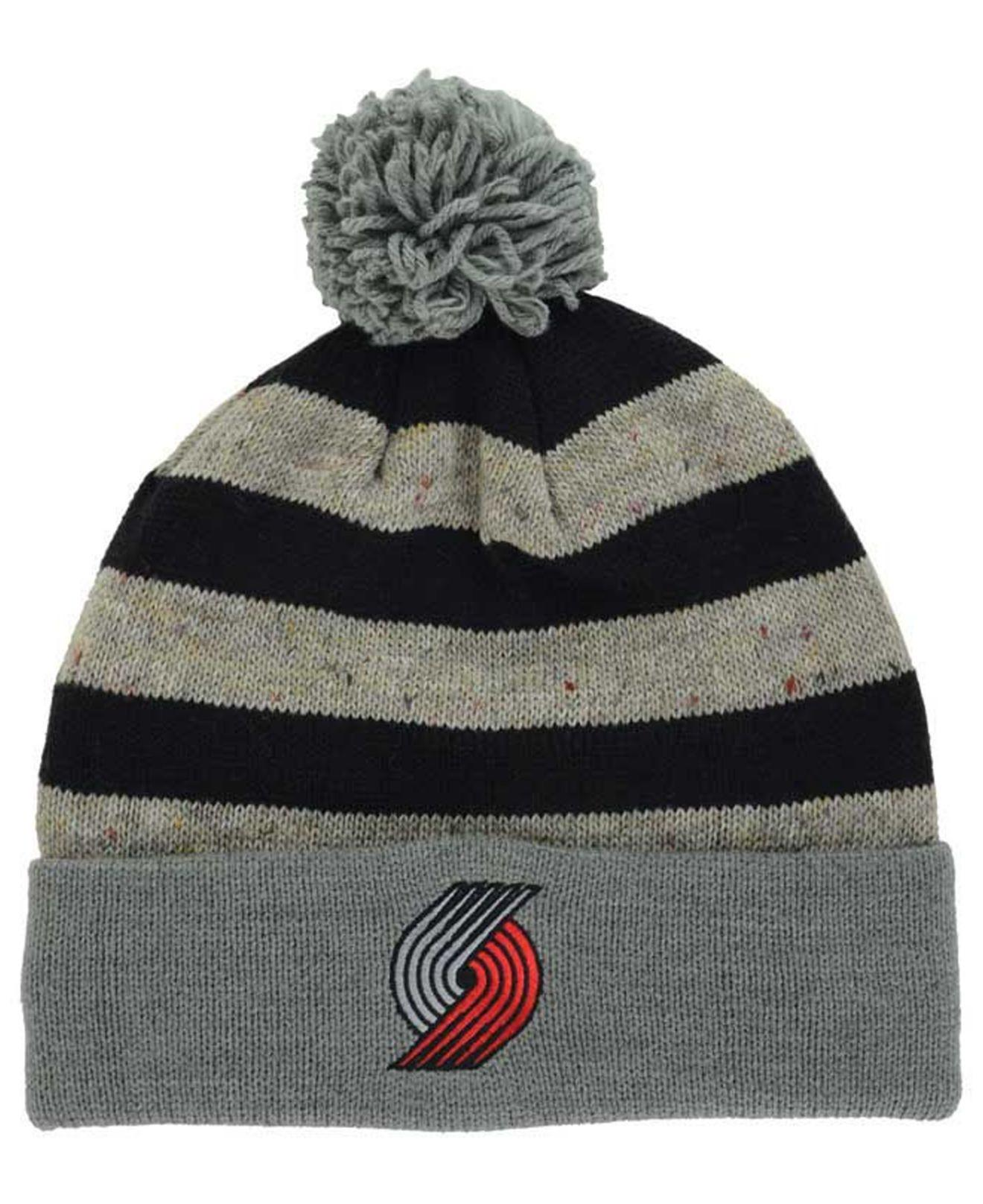 c75c13c5cb9 Lyst - Mitchell   Ness Speckled Knit Hat in Black for Men