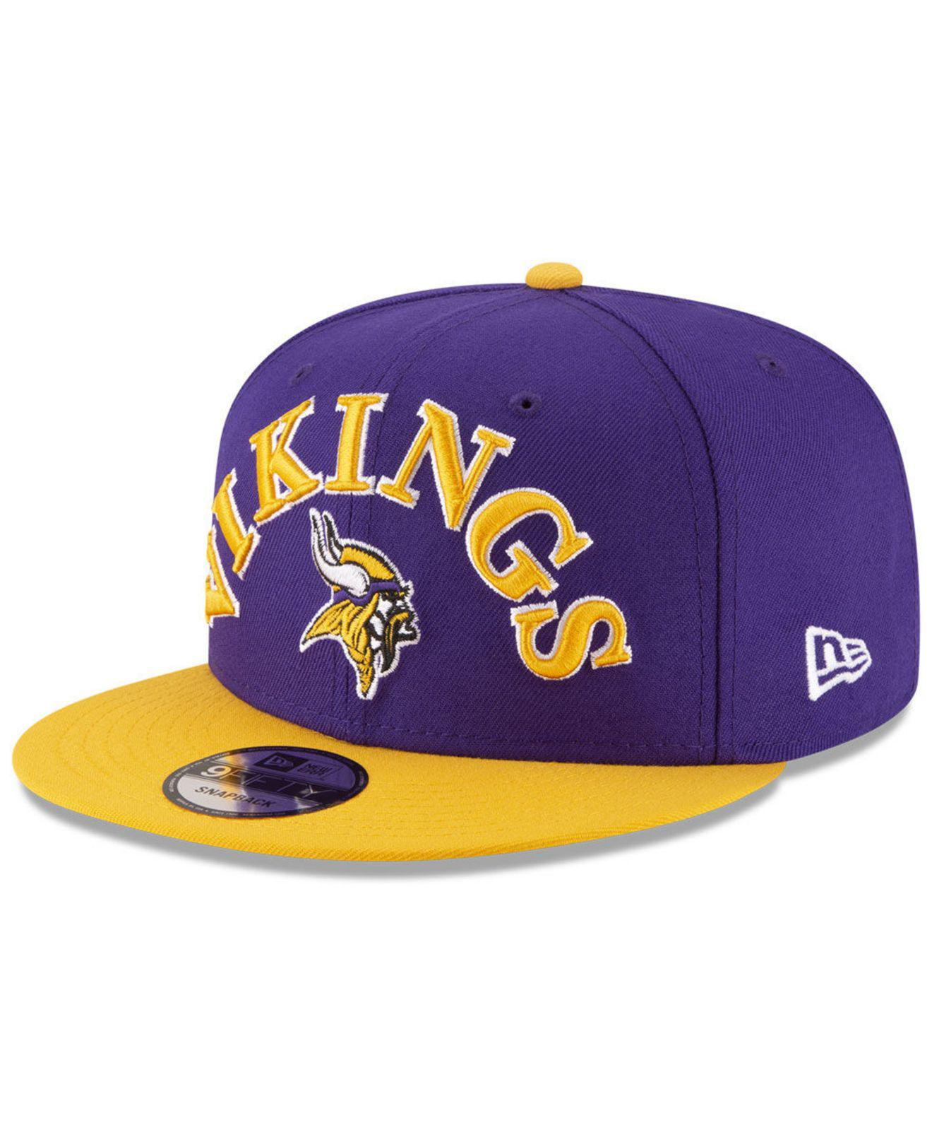 release date: a0552 aff41 KTZ. Men s Purple Minnesota Vikings Retro Logo 9fifty Snapback Cap