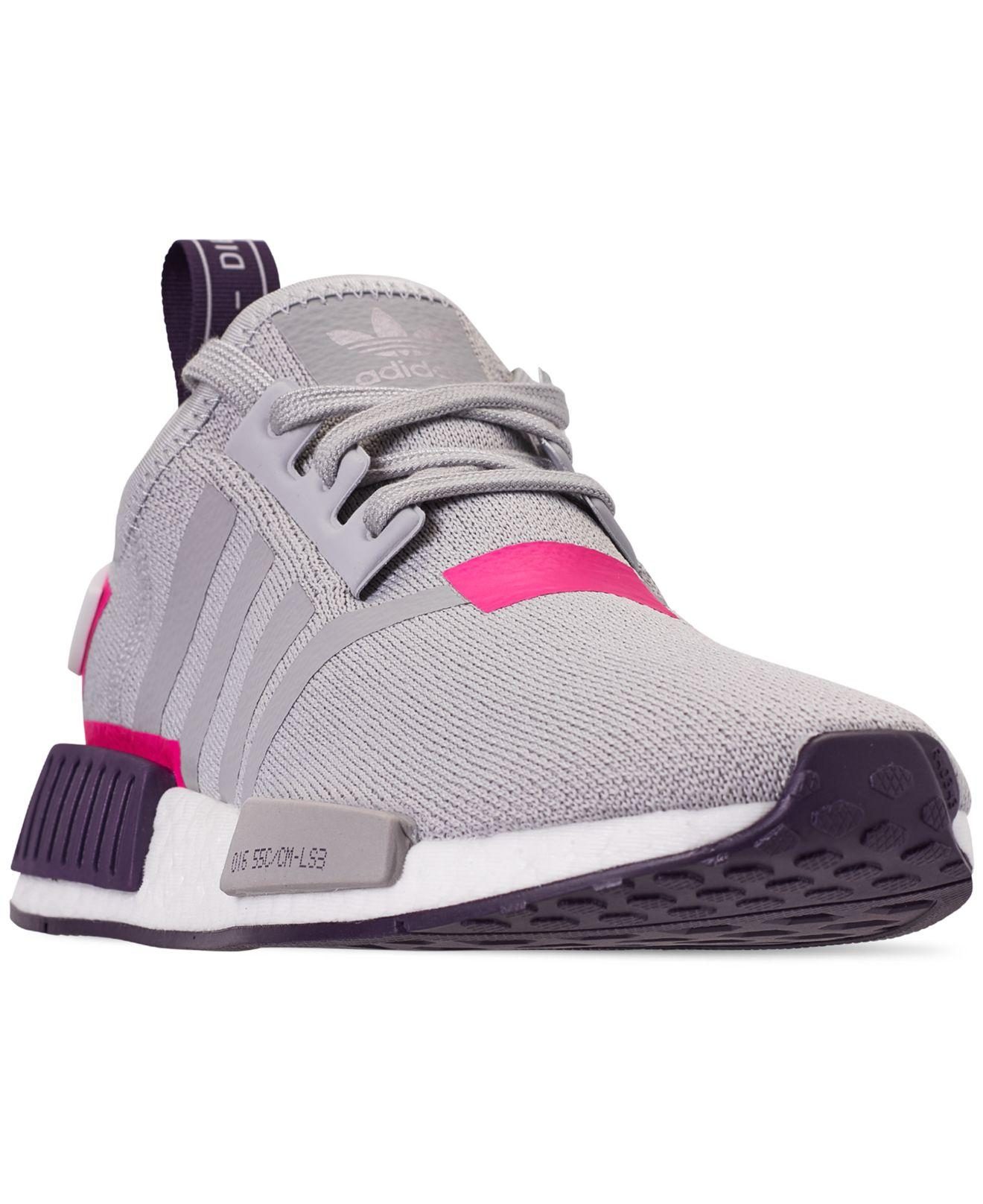 900da33097bd2 Lyst - adidas Nmd R1 Casual Sneakers From Finish Line in Gray