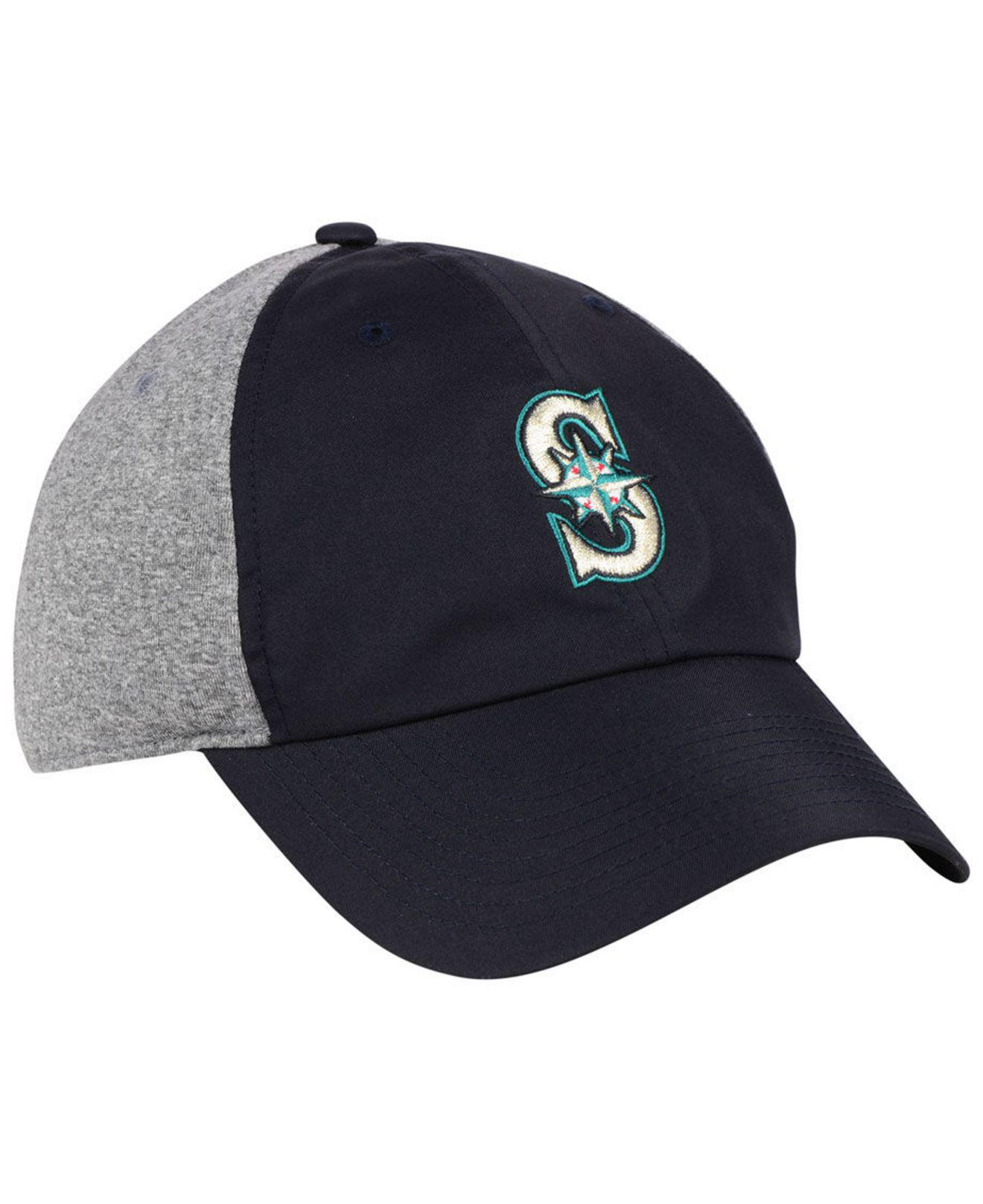 check out 7ee7c dfc2e ... coupon code for nike blue seattle mariners new day legend cap for men  lyst. view