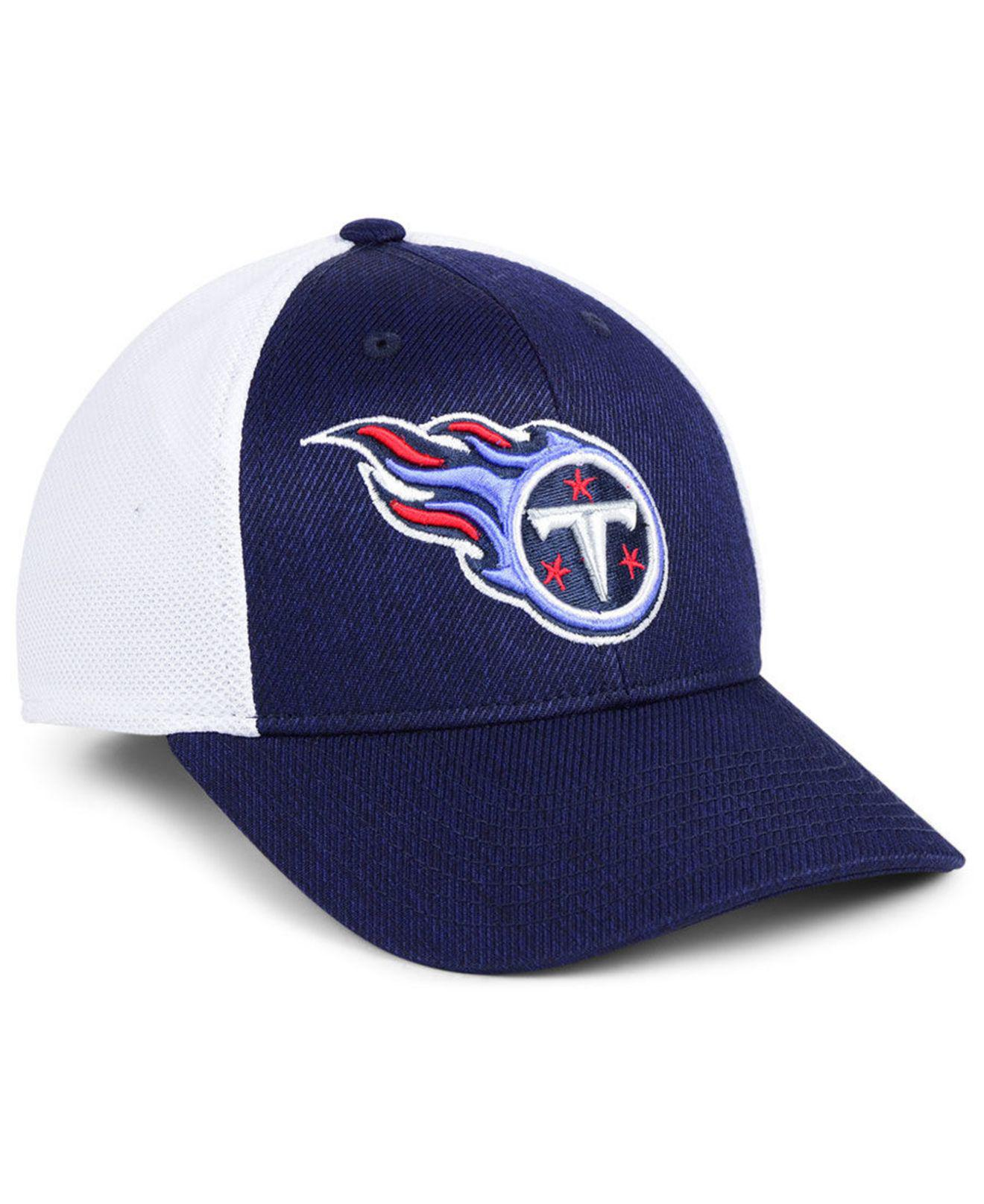 detailing eb730 fa6e1 47 Brand Tennessee Titans Hazy Flex Contender Stretch Fitted Cap in ...