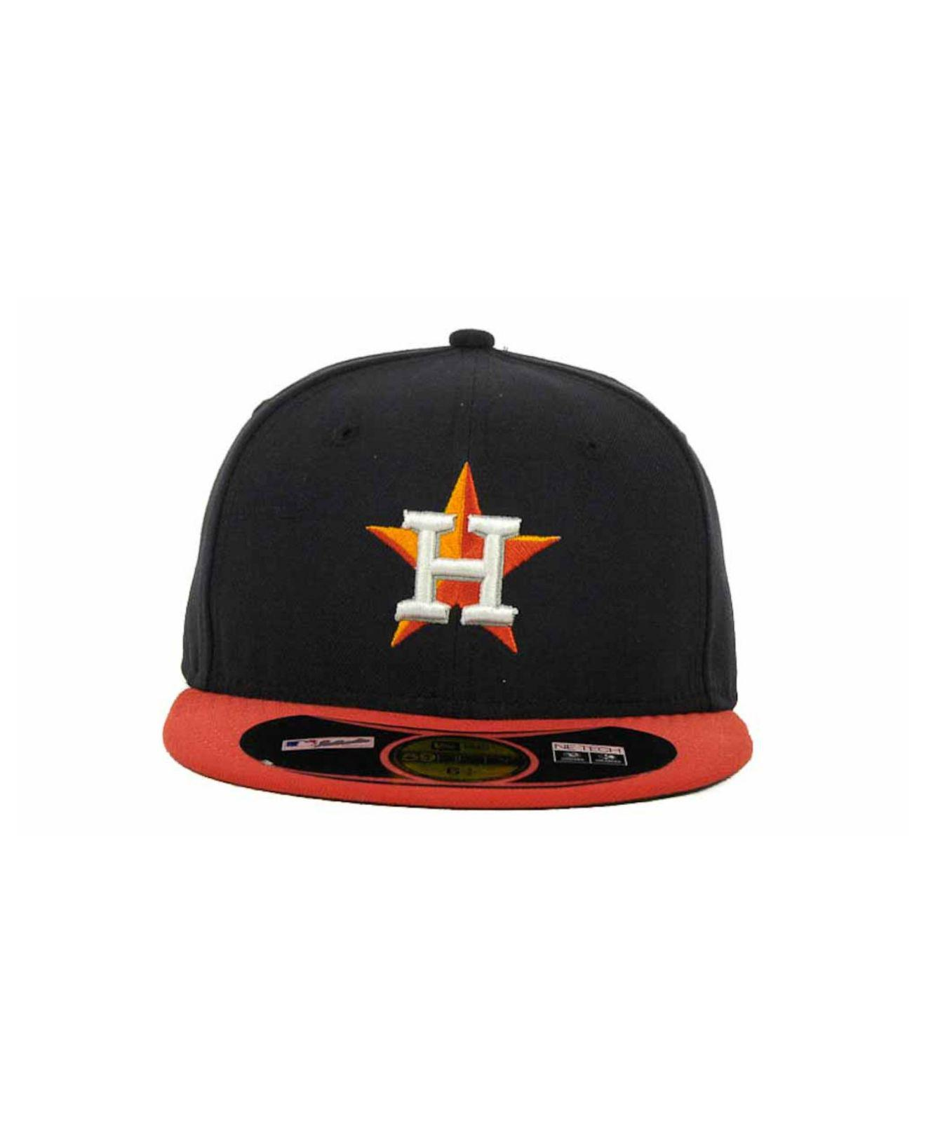 Lyst - KTZ Houston Astros Mlb Authentic Collection 59fifty Cap in Blue for  Men 8c6917d0475