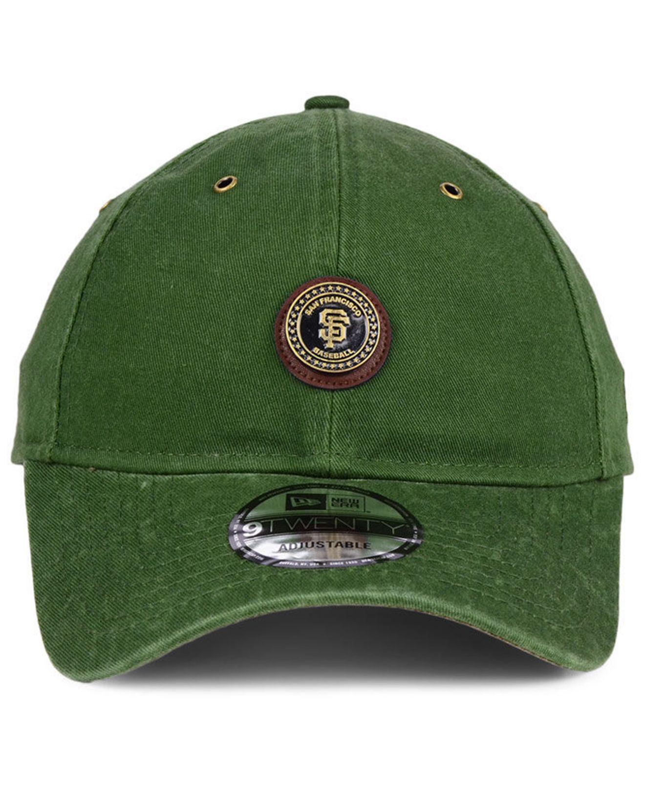 ... huge sale 14ad6 5ca58 Lyst - Ktz San Francisco Giants Coin 9twenty Cap  in Green fo ... 6727c3873