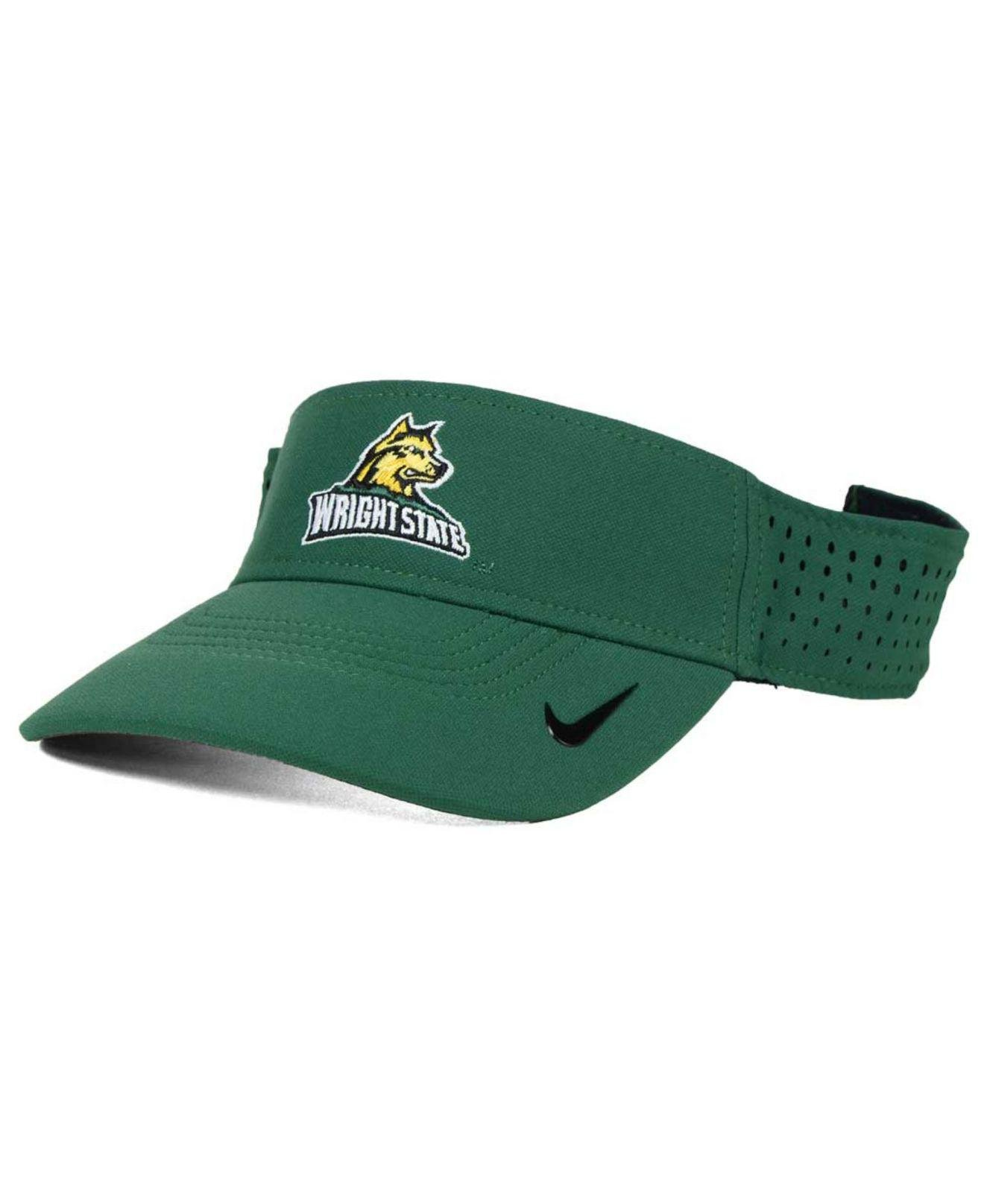 5782d59f4 Lyst - Nike Wright State Raiders Vapor Visor in Green for Men
