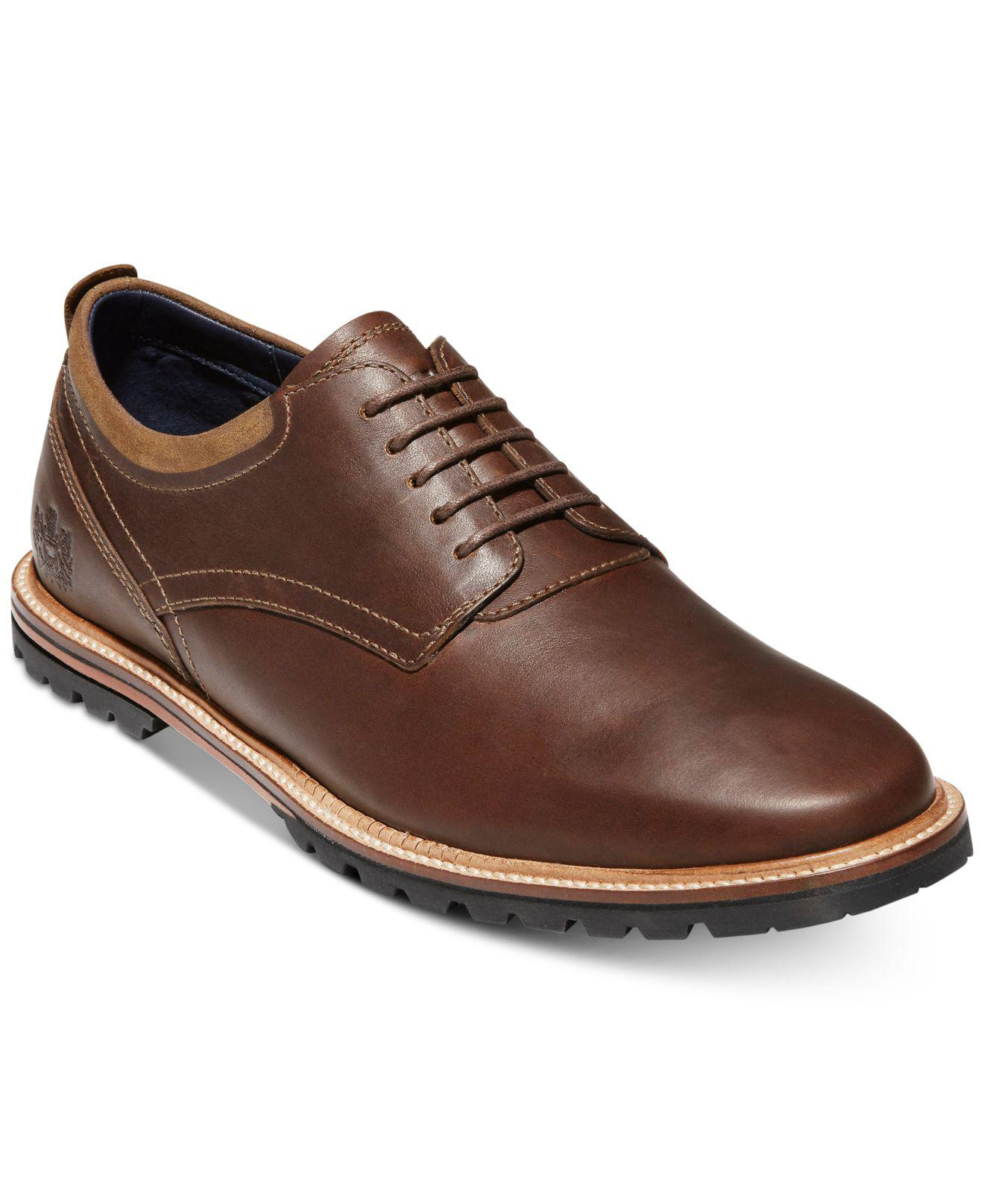 4fcfbd96024 Lyst - Cole Haan Ripley Grand Oxfords in Brown for Men