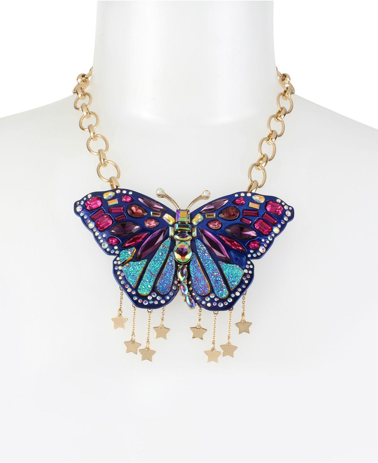 Betsey Johnson Butterfly Necklace