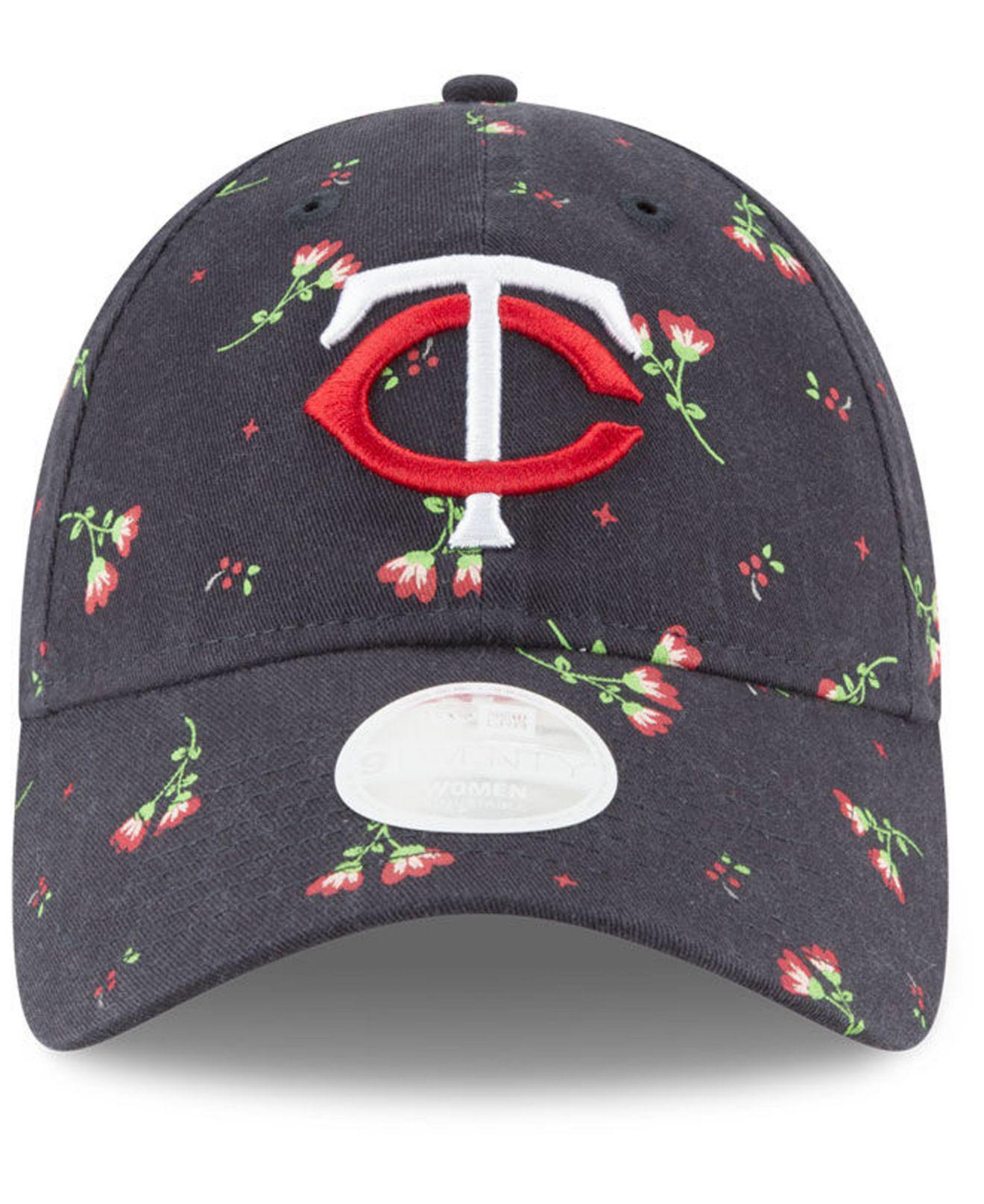 super popular ccf84 ef46a ... real lyst ktz minnesota twins blossom 9twenty strapback cap in blue for  men d7645 37460