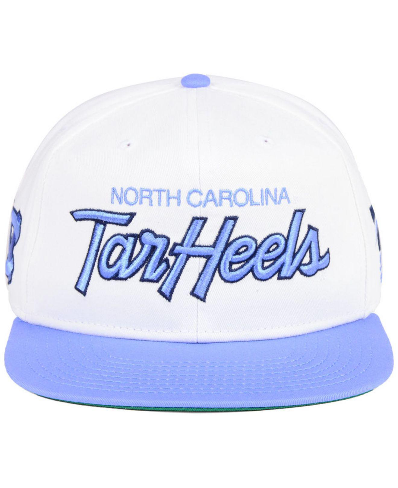 newest 2332e 0876c ... norway lyst nike north carolina tar heels sport specialties snapback cap  in white for men 86196
