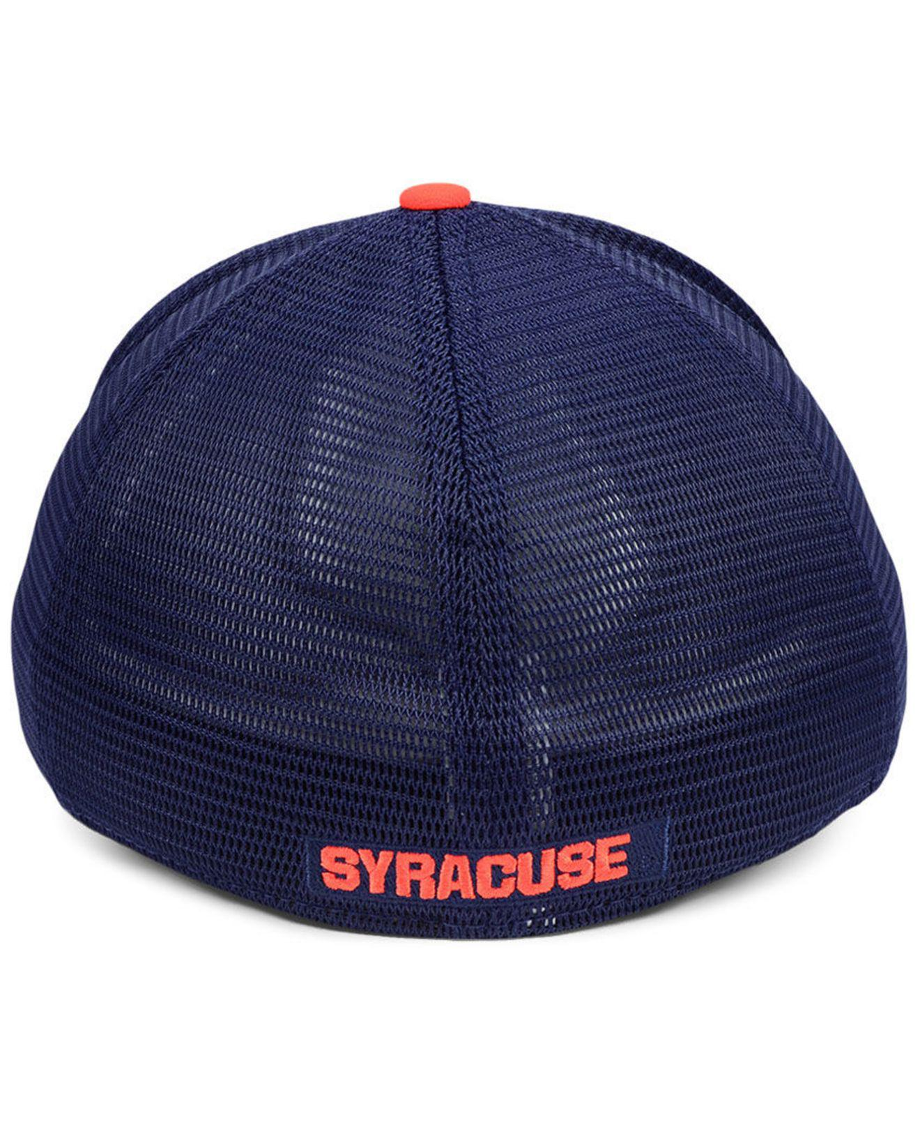 best loved b348f a2390 ... hot nike blue syracuse orange col aro swooshflex cap for men lyst. view  fullscreen 933f8