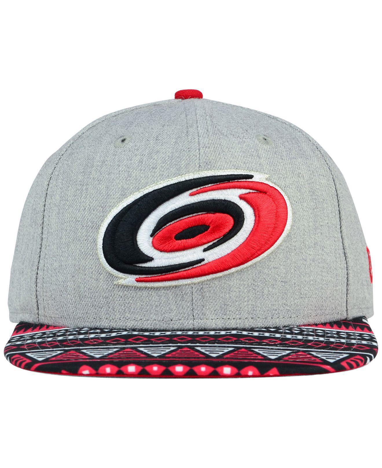 finest selection 24459 66710 Lyst - KTZ Carolina Hurricanes Neon Mashup 9fifty Snapback Cap in ...