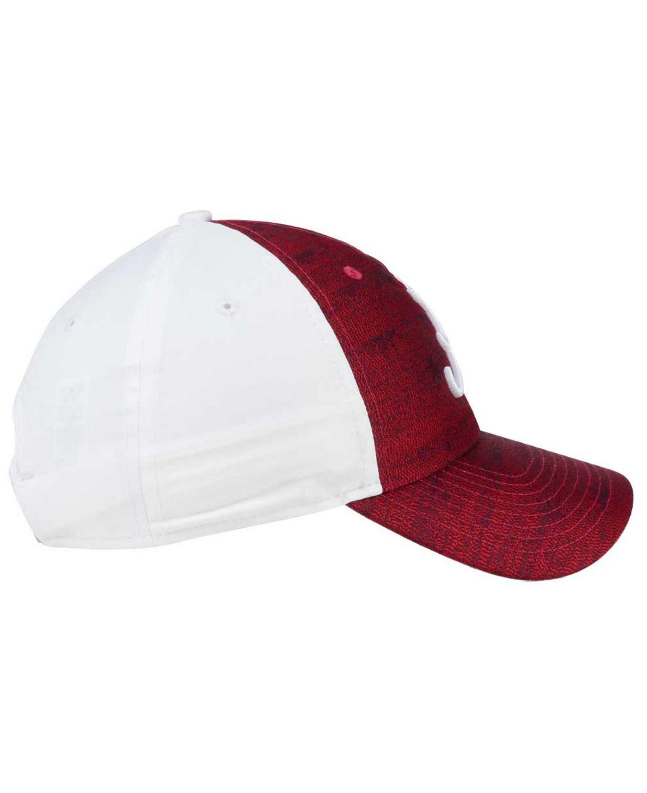 brand new a2b34 0a64a ... where can i buy nike red womens seasonal h86 cap lyst. view fullscreen  fb062 8bd9d
