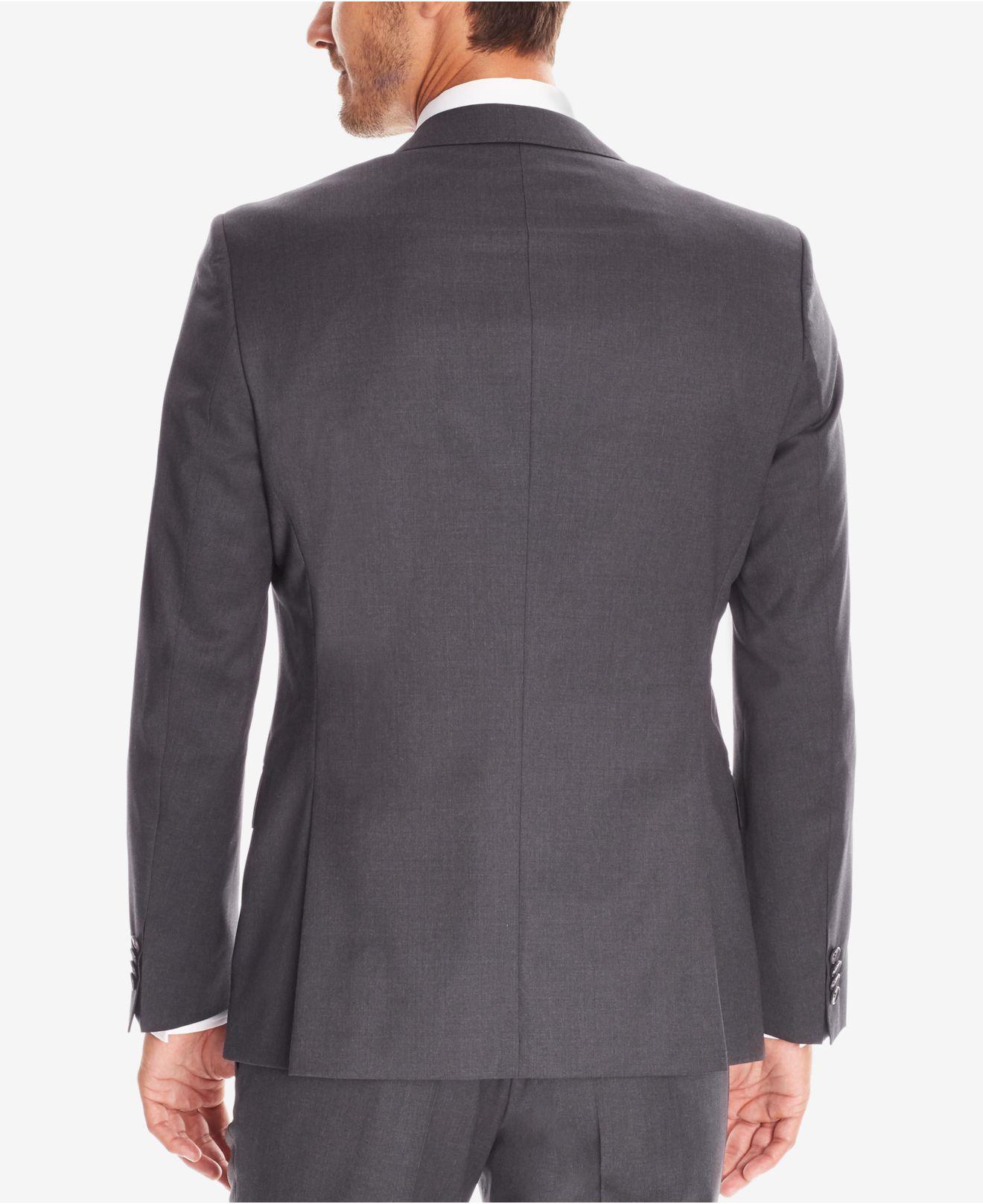 be0b4ea1 Lyst - BOSS Men's Slim-fit Super 120 Italian Virgin Wool Sport Coat in Gray  for Men