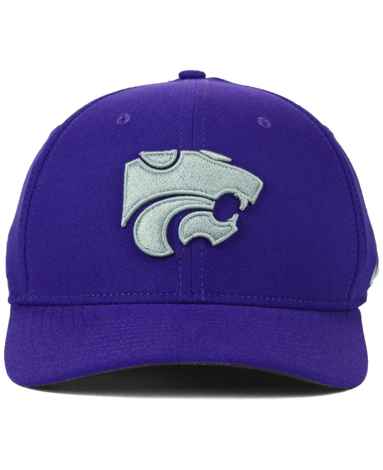 sale retailer d19c5 84bf6 Lyst - Nike Kansas State Wildcats Classic Swoosh Cap in Purple for Men