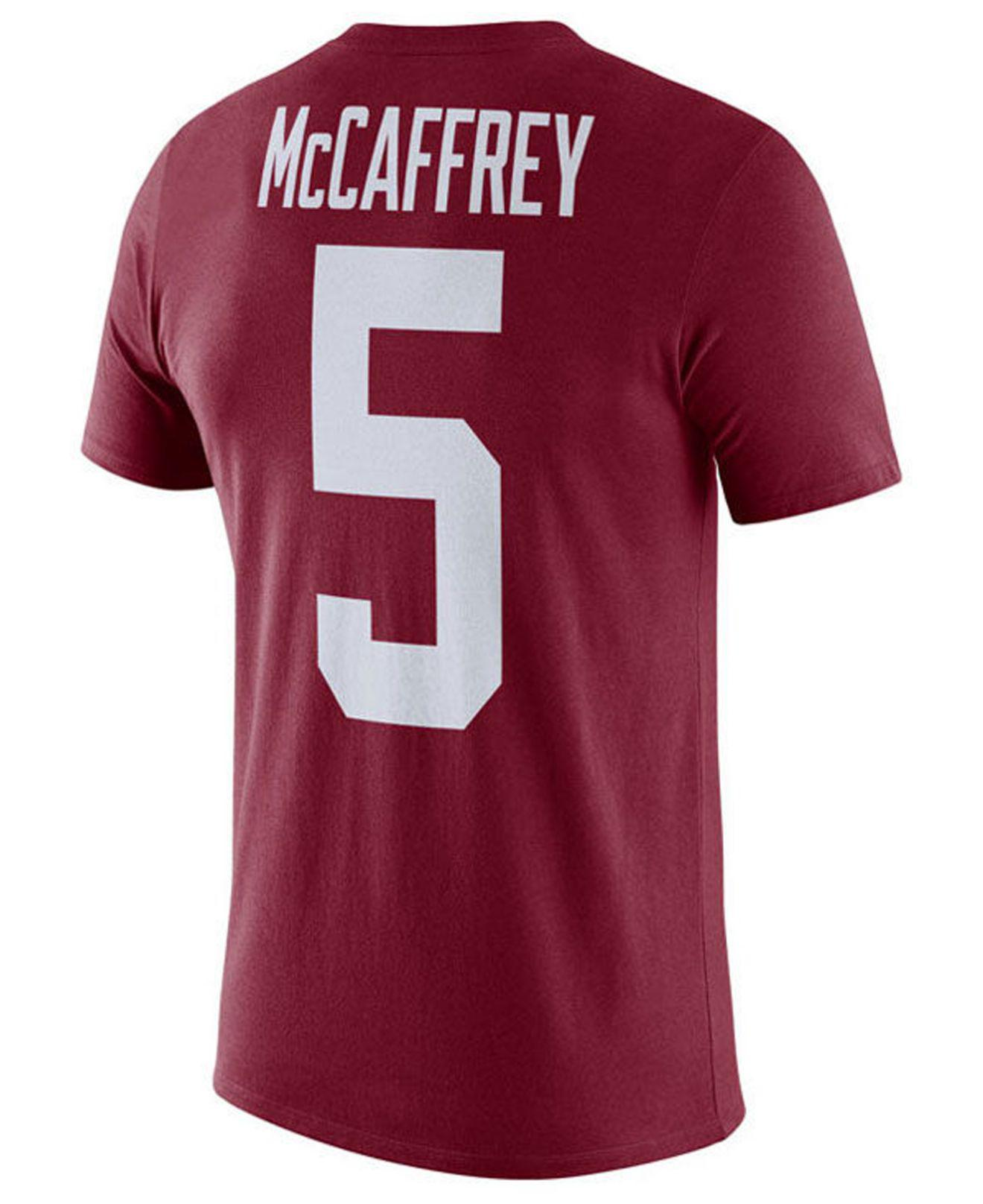 18f4d981 Lyst - Nike Christian Mccaffrey Stanford Cardinal Name And Number T ...