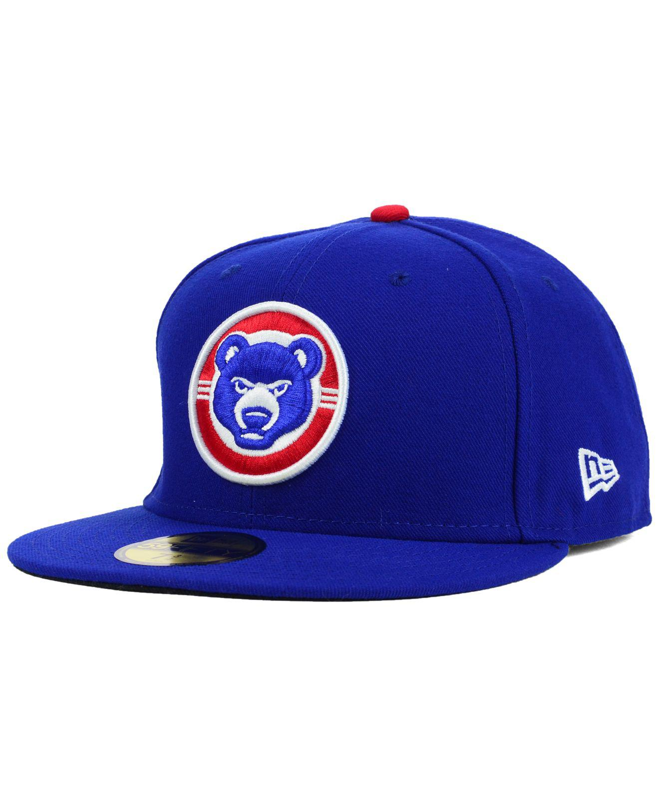 d03fd81abad Lyst - KTZ South Bend Cubs 59fifty Cap in Blue for Men