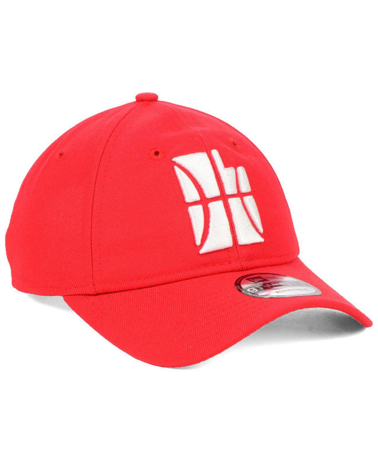the best attitude a846f 83c5f KTZ - Red Utah Jazz City Series 9twenty Strapback Cap for Men - Lyst. View  fullscreen