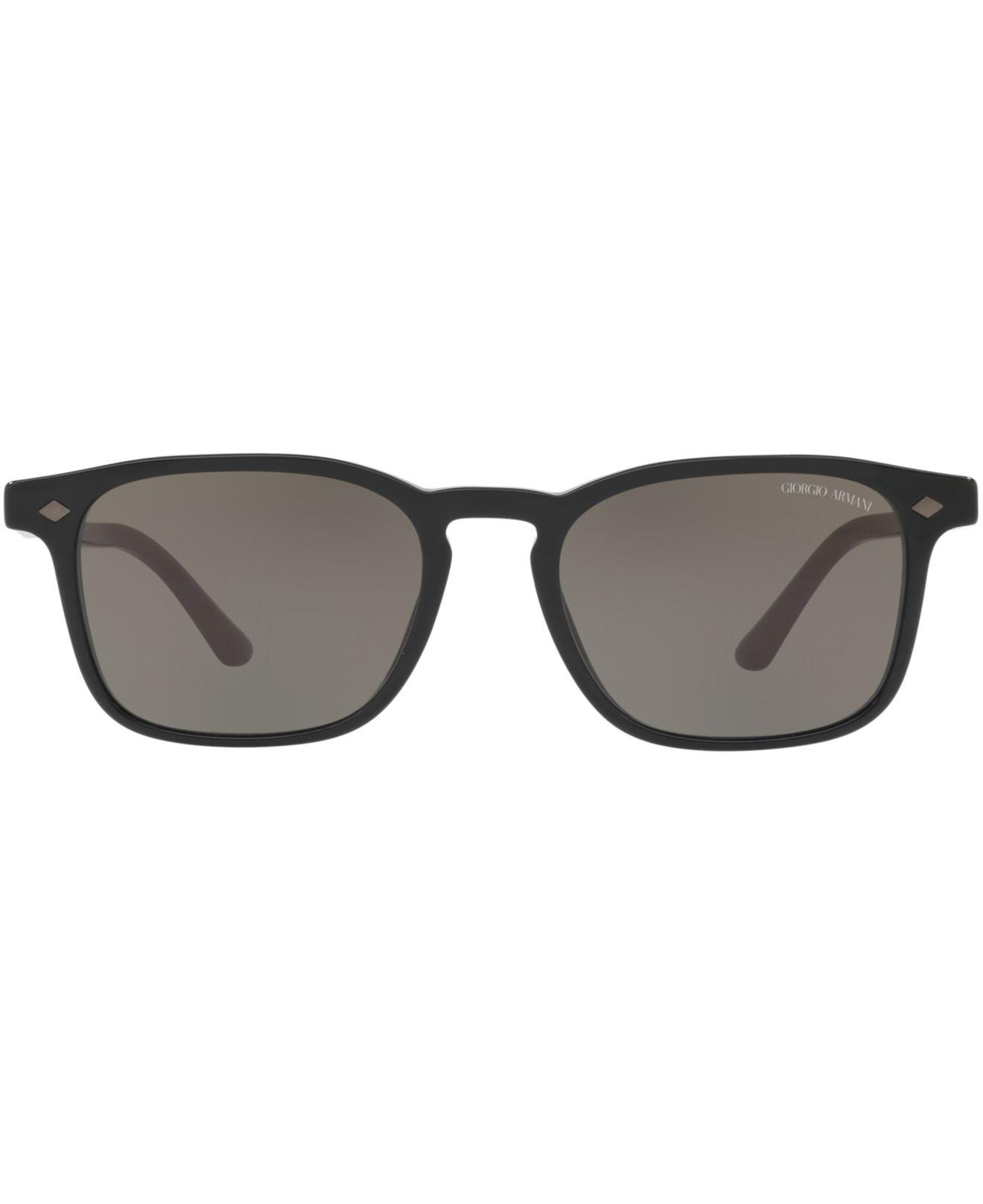 5e188f139632 Lyst - Giorgio Armani Sunglasses, Ar8103 in Gray for Men