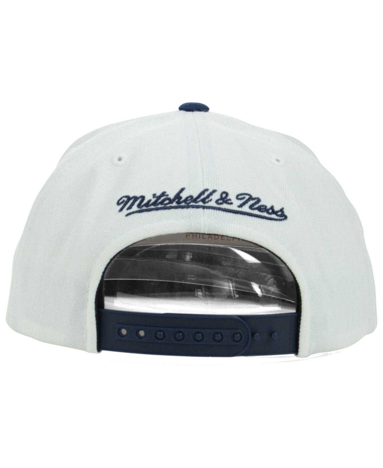 super cute c8e43 01a84 ... denmark lyst mitchell ness indiana pacers xl logo snapback cap in blue  8329a b5b56