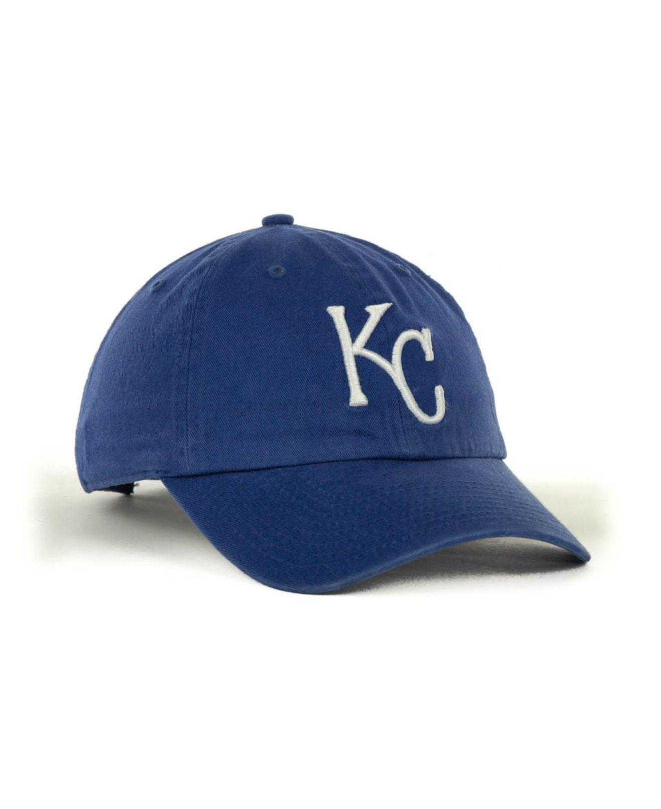 uk cheap sale thoughts on clearance sale 47 Brand Cotton Kansas City Royals Clean Up Hat in Natural for Men ...