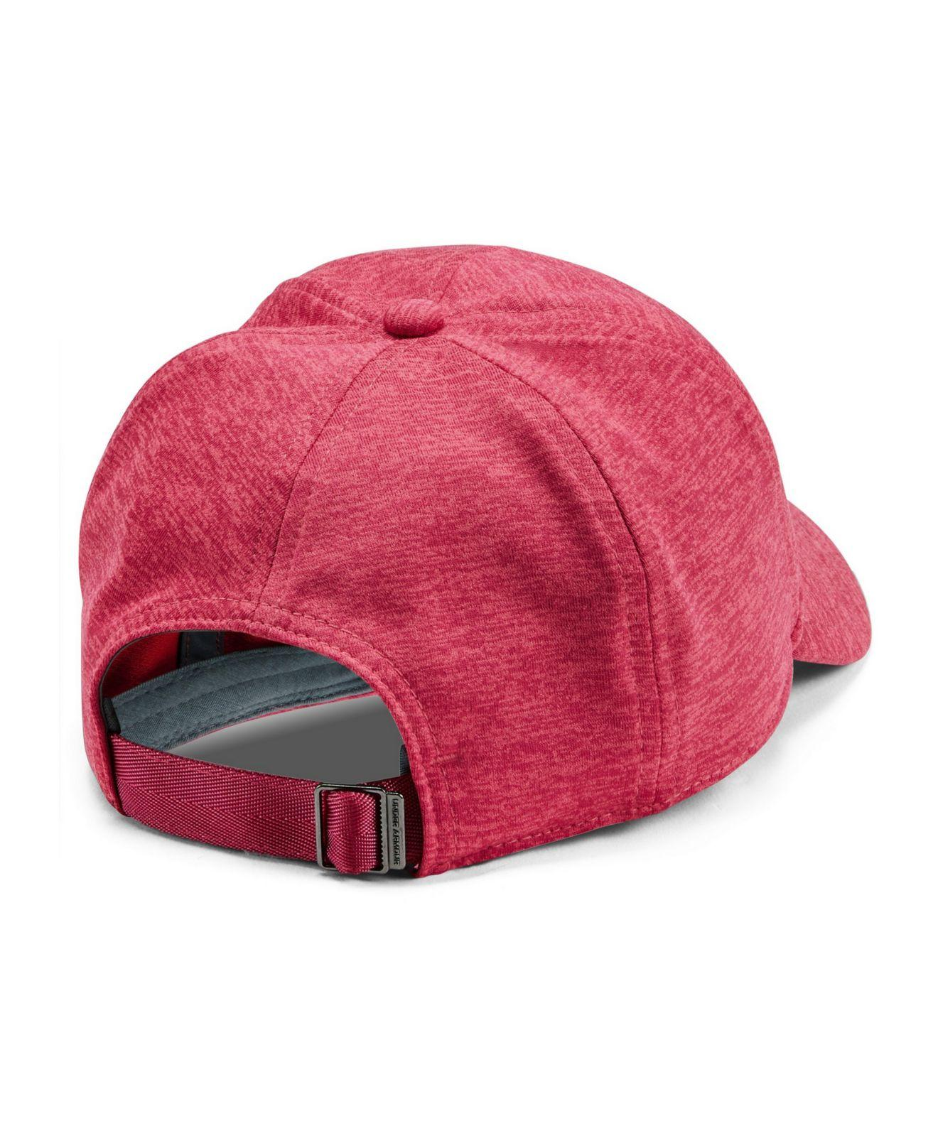 half off f95d1 8b8e9 Under Armour Twisted Renegade Free Fit Cap in Pink - Lyst