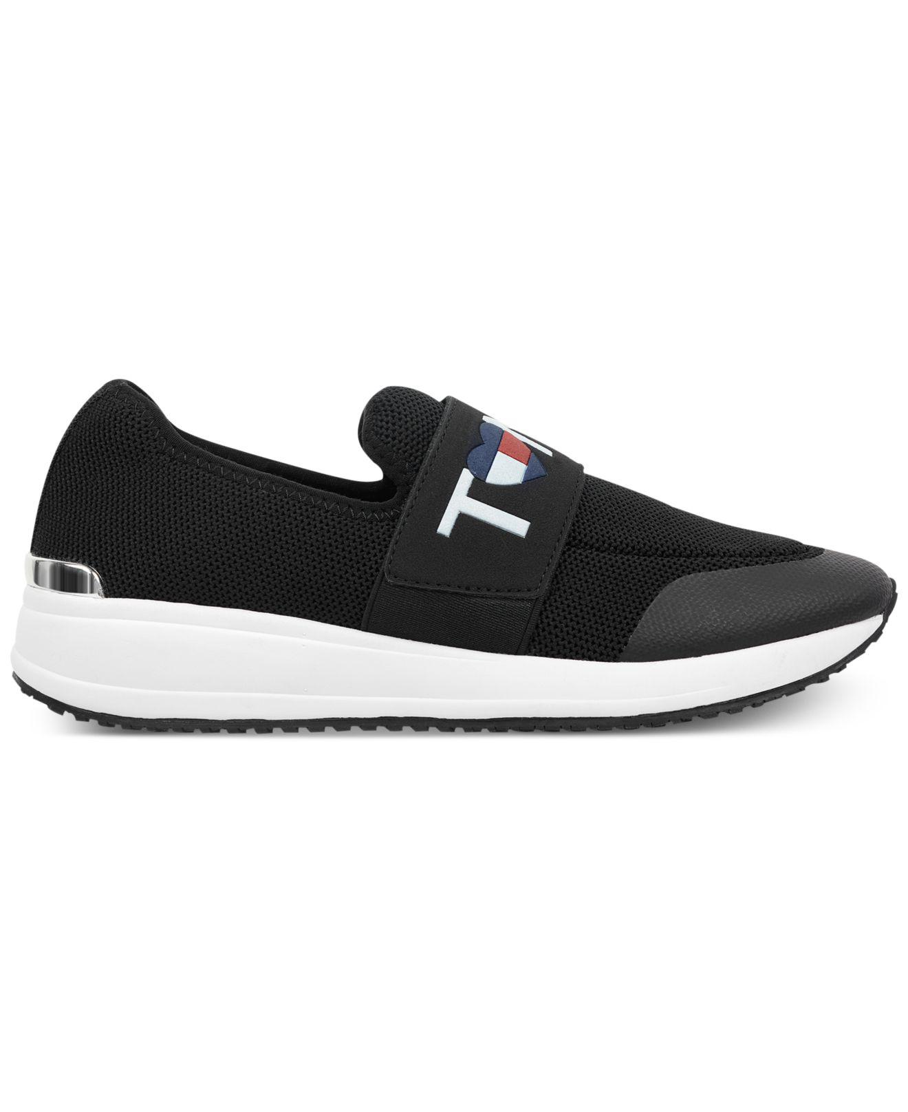 5d6f7d59f Lyst - Tommy Hilfiger Rosin Slip-on Fashion Sneakers in Black