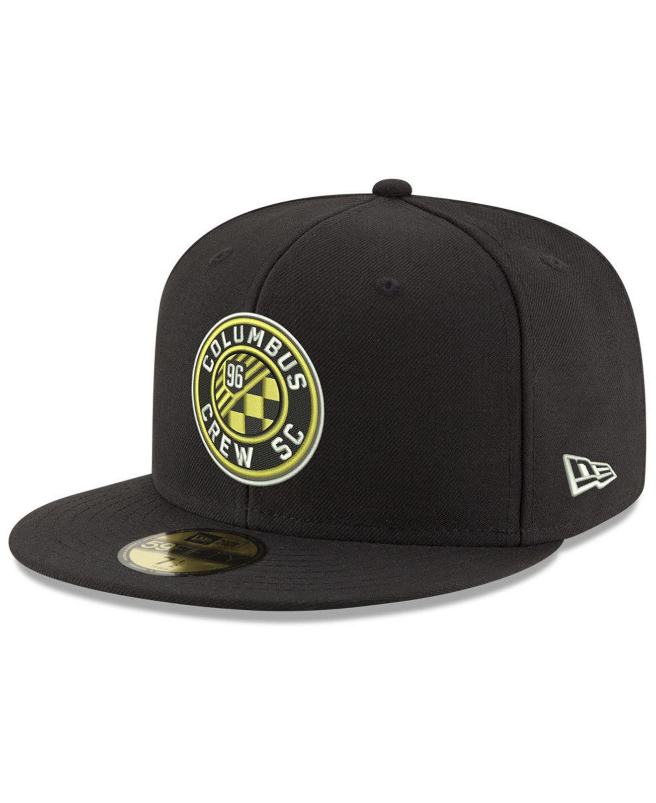 timeless design aab99 96528 Lyst - KTZ Colorado Rapids Core 59fifty-fitted Cap in Black for Men