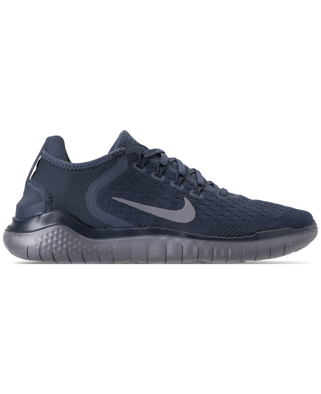 ee46d6e00f61 Lyst - Nike Free Run 2018 Running Sneakers From Finish Line in Blue for Men