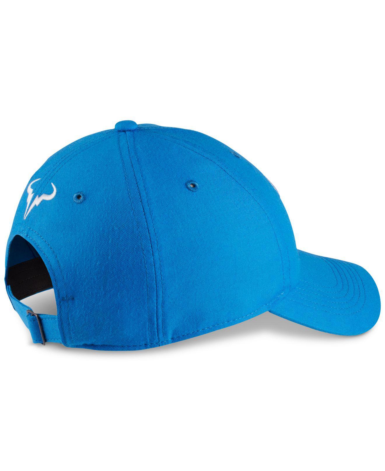 04ca57f401bf5 Nike Court Aerobill Rafa Tennis Hat in Blue for Men - Lyst