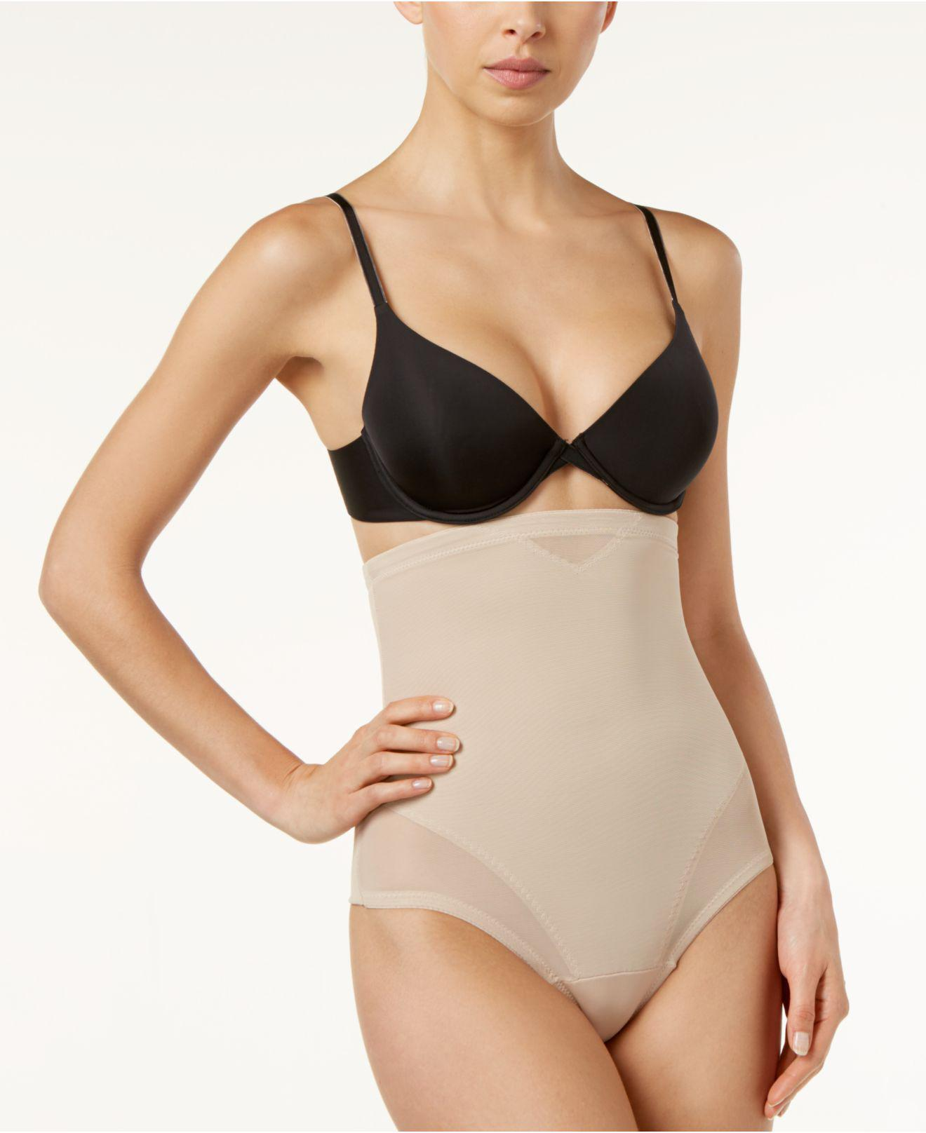 a3f6a936cebb3 Miraclesuit - Multicolor Extra Firm Control High-waist Sheer Thong 2778 -  Lyst. View fullscreen