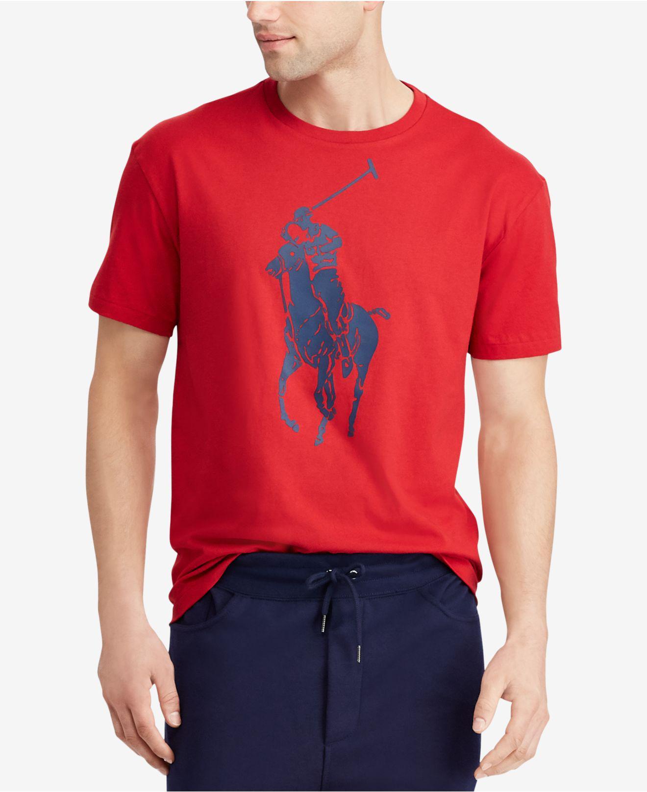 Classic-fit Big Pony T-shirt