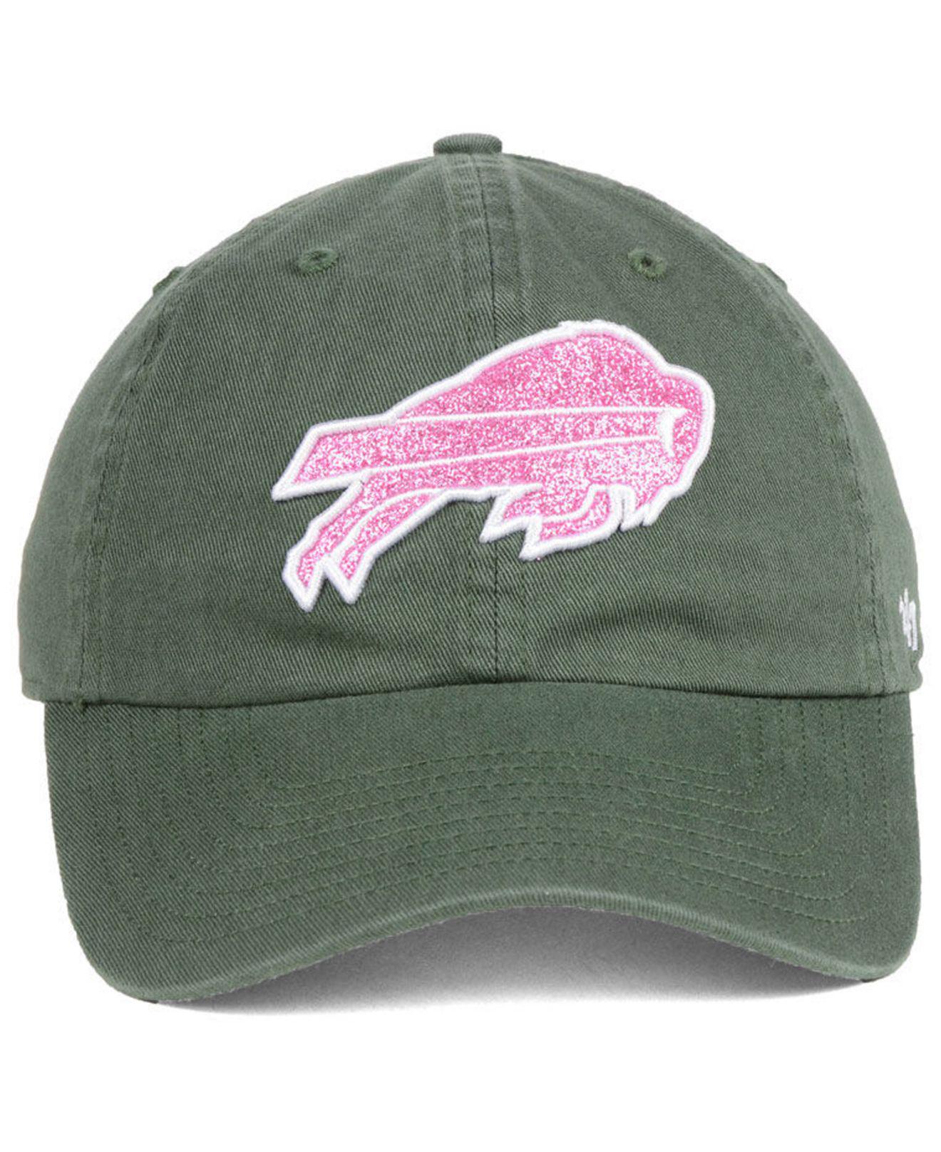 e24d6cd66 Lyst - 47 Brand Buffalo Bills Moss Glitta Clean Up Cap in Green
