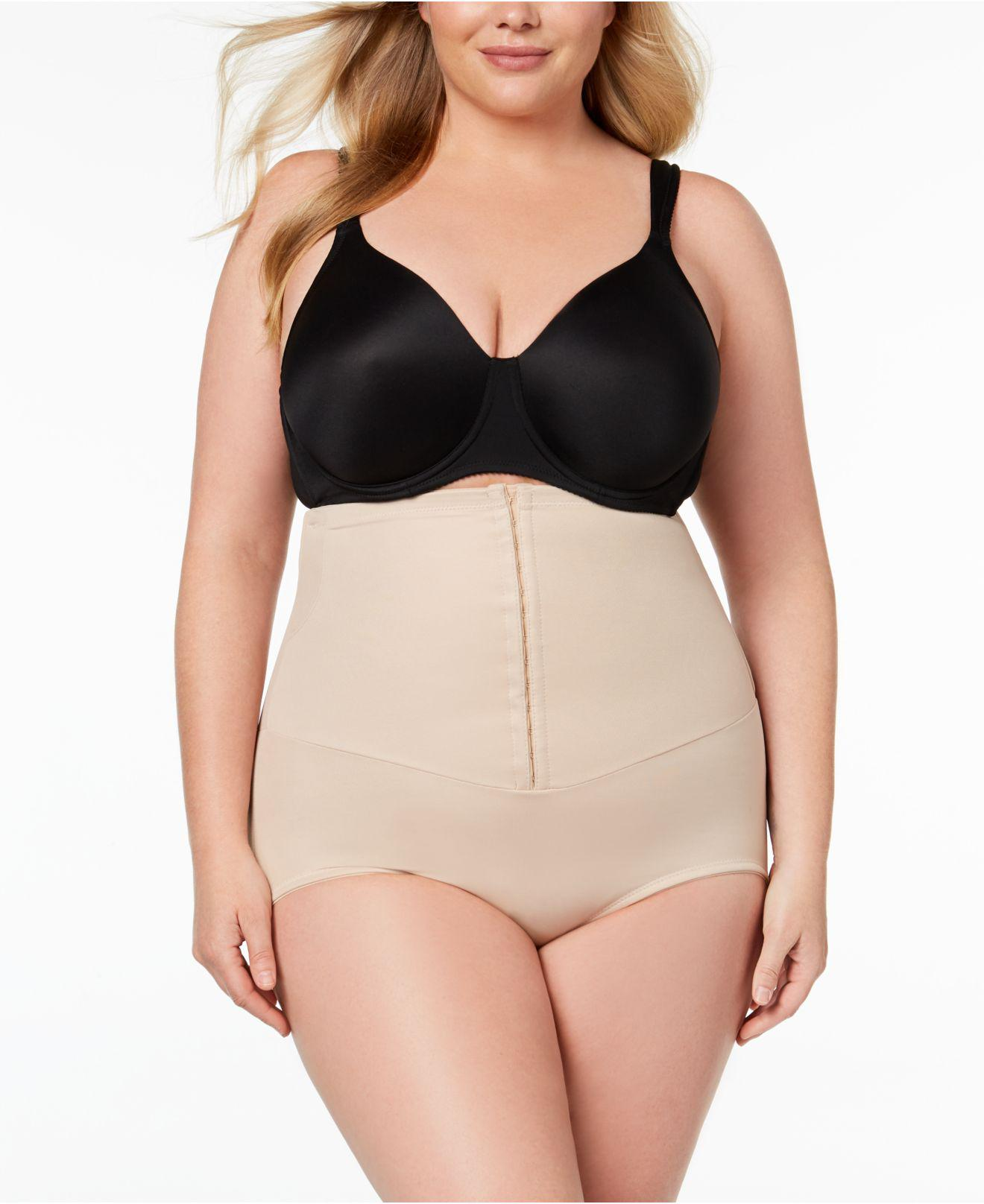 75f84188dc0 Lyst - Miraclesuit Extra Firm Inches Off Waist Cinching High-waist ...