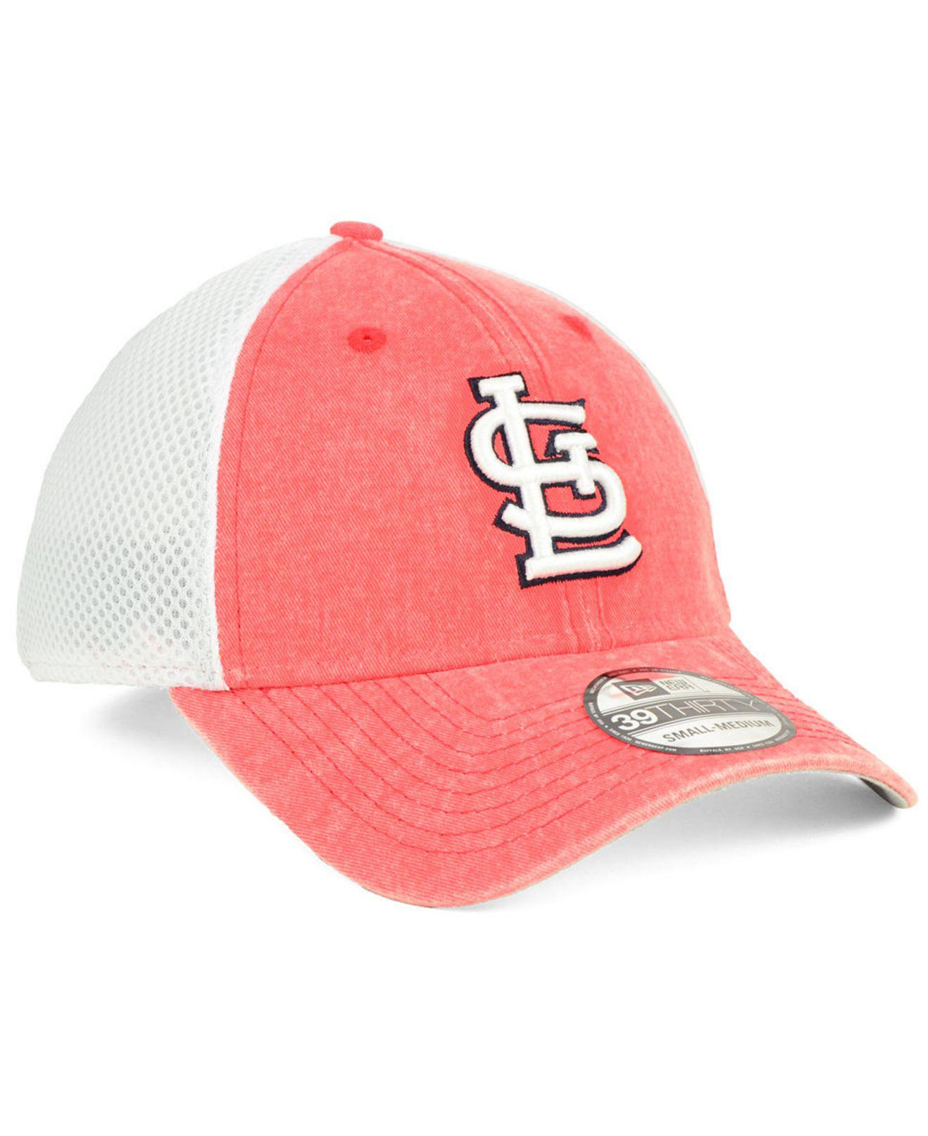 half off fe12e d694d ... wholesale st. louis cardinals hooge neo 39thirty cap for men lyst. view  fullscreen dfcaf
