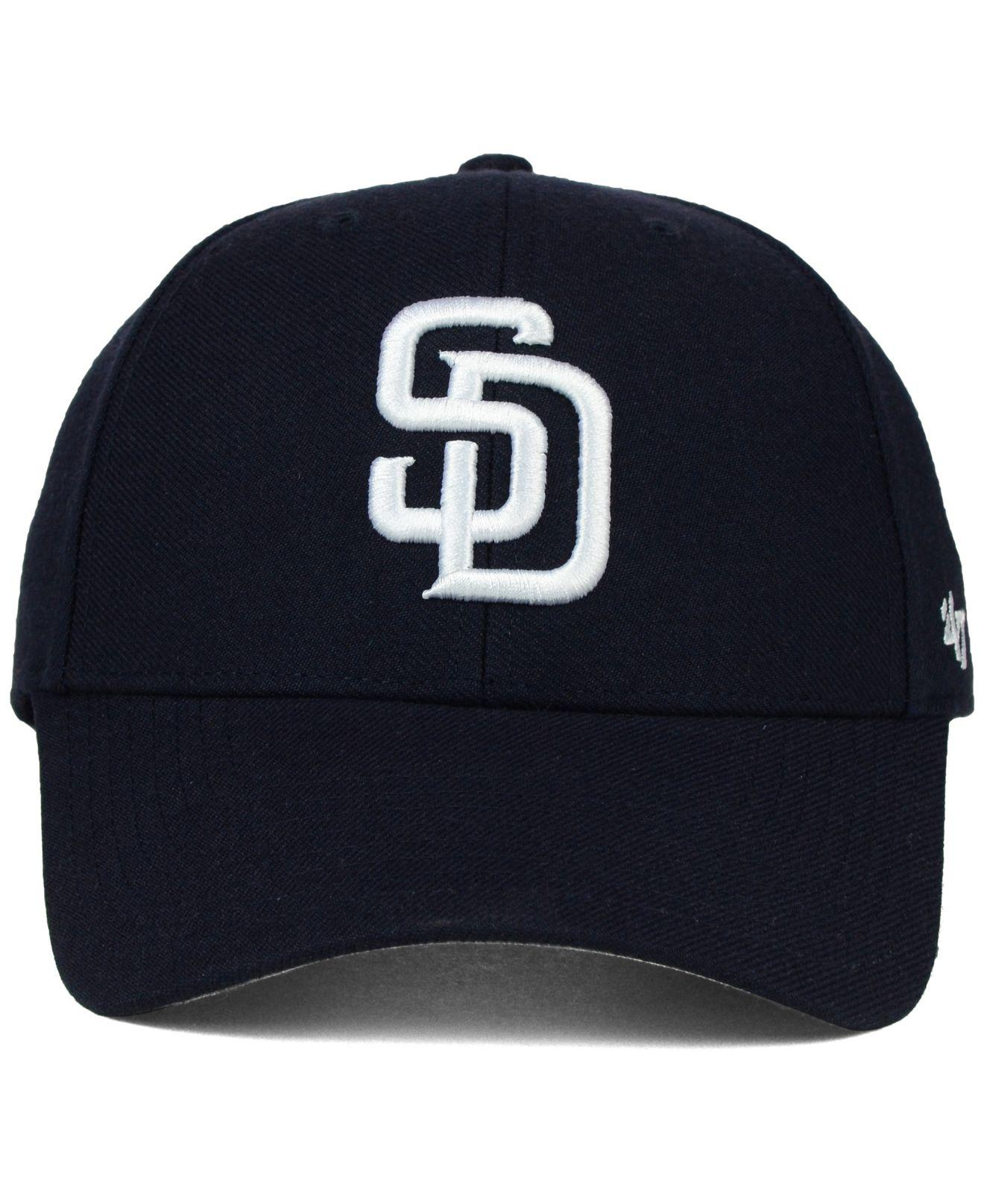 promo code b1f17 99b68 47 Brand San Diego Padres Mlb On Field Replica Mvp Cap in Blue for Men -  Lyst