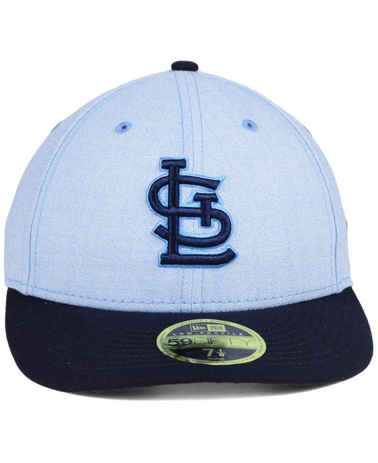 b6f4e5761f6 ... flex hat ff250 e02d7  top quality lyst ktz st. louis cardinals fathers  day low profile 59fifty cap in blue