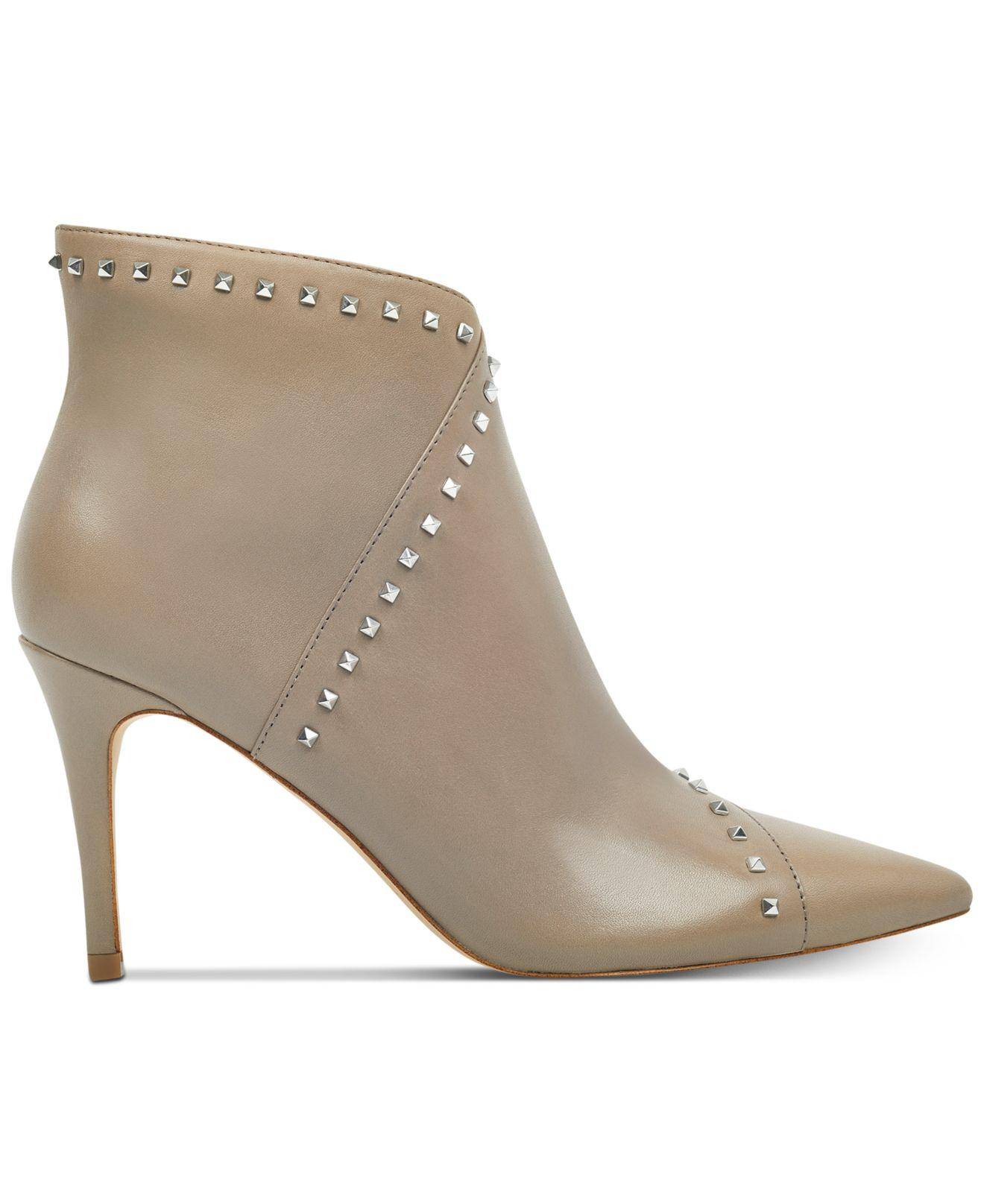 marc fisher riva studded dress booties